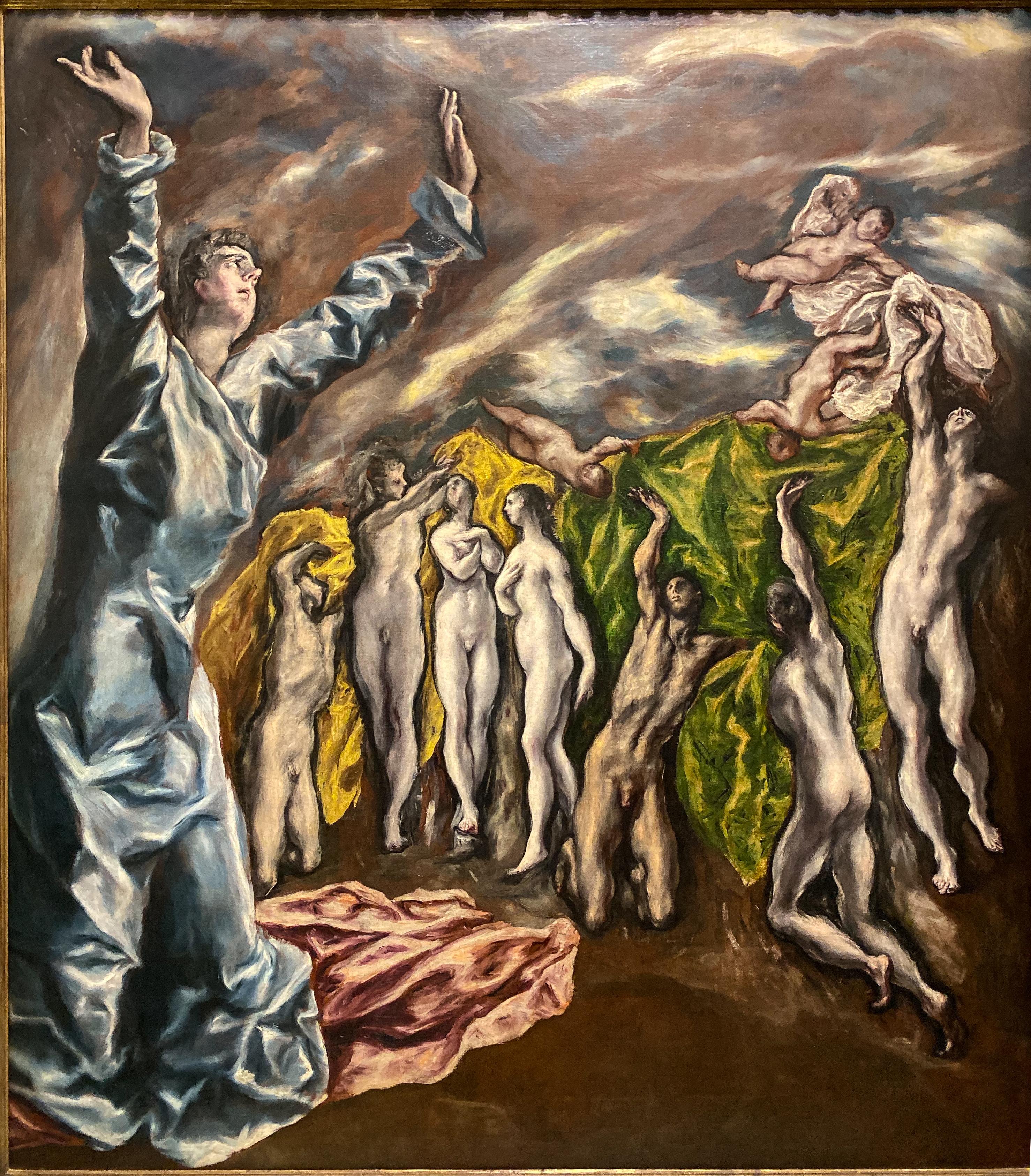 El Greco Öffnung 5. Siegel Metropolitan Museum