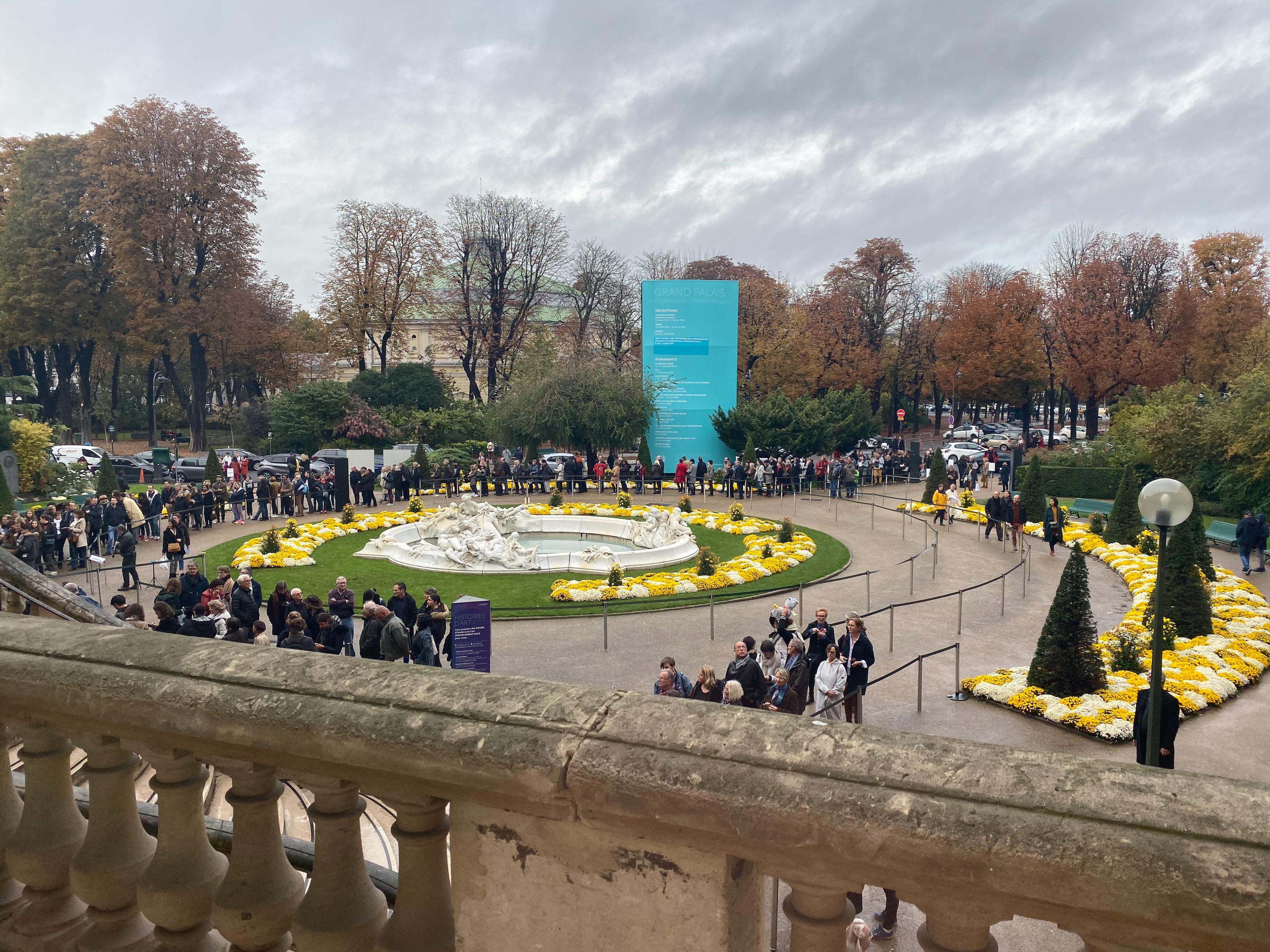Toulouse-Lautrec im Grand Palais 2019/20 Besucherschlange