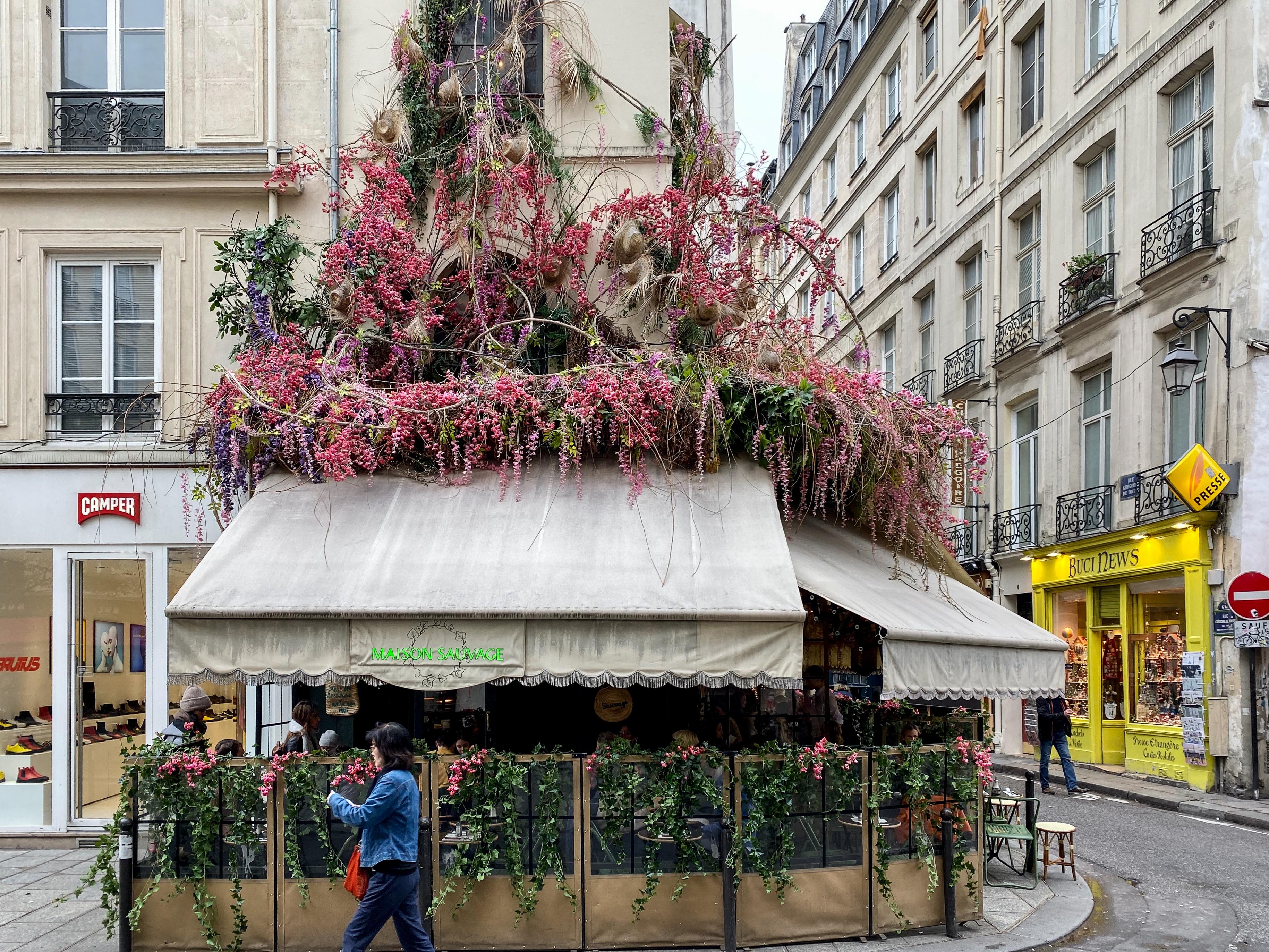 Paris hier als Pseudo-Green City