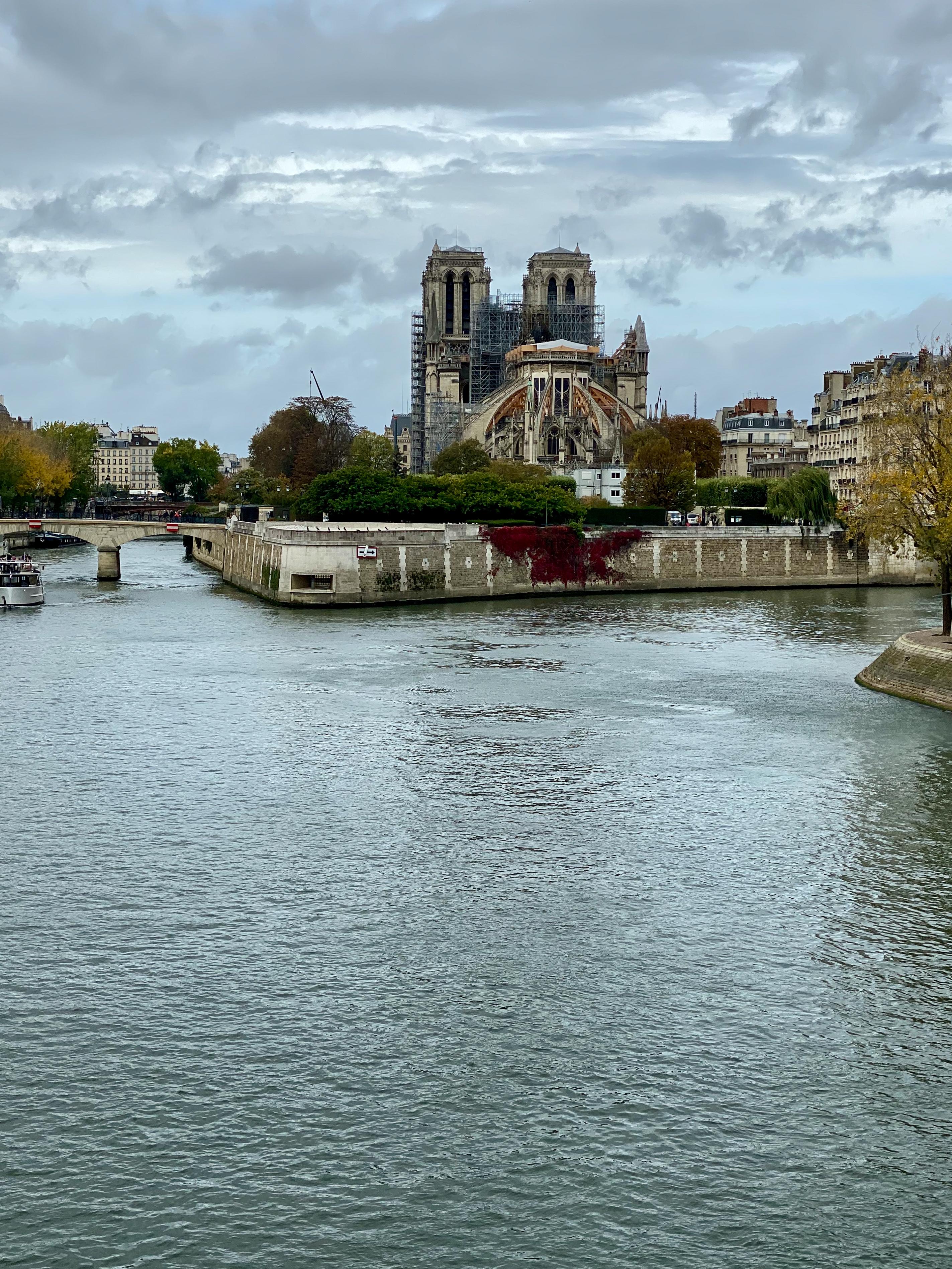 Nachtrag zu Notre-Dame im Koma – 11/2019 aus größerer Distanz