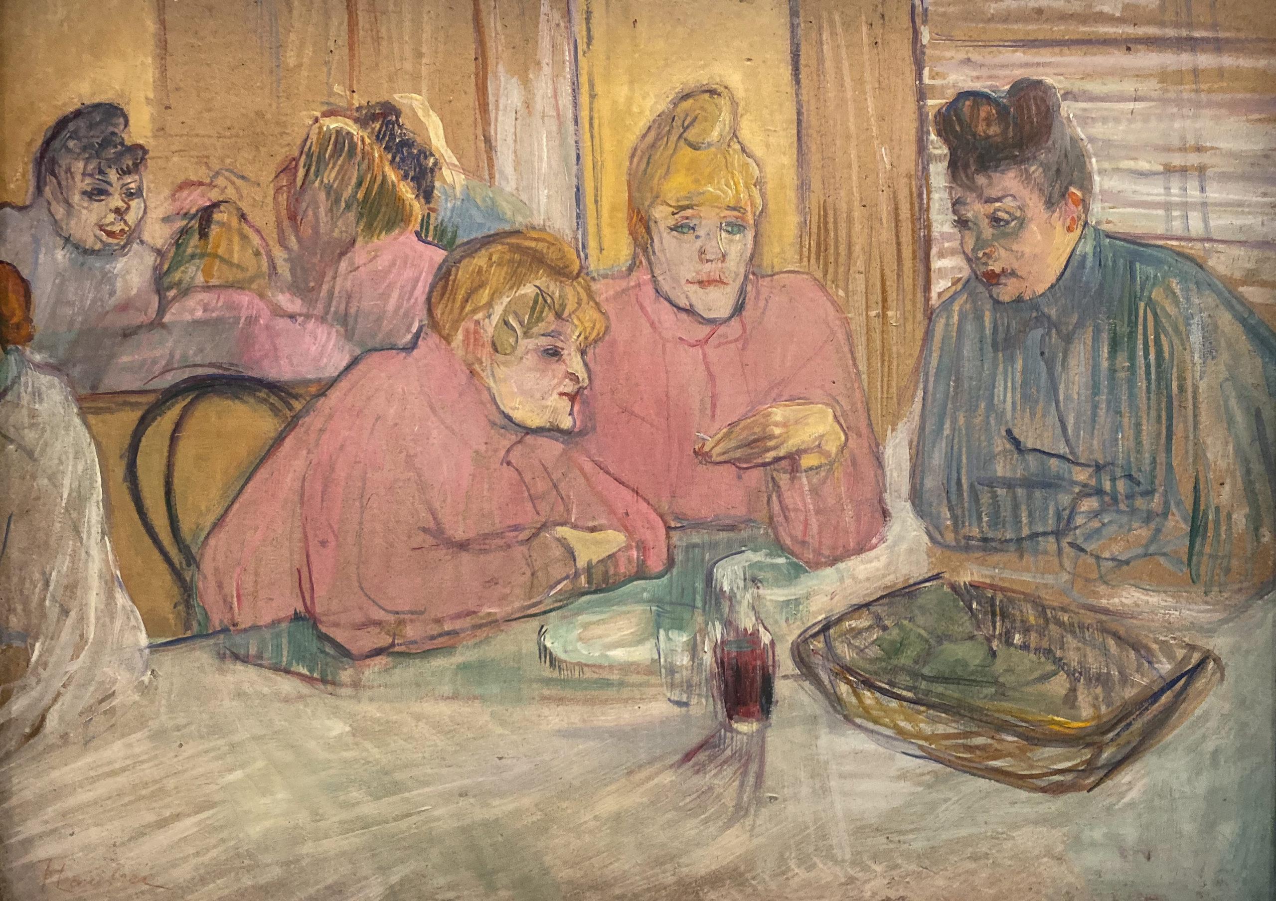 Toulouse-Lautrec im Grand Palais 2019/20 Ces Dames au réfectoire