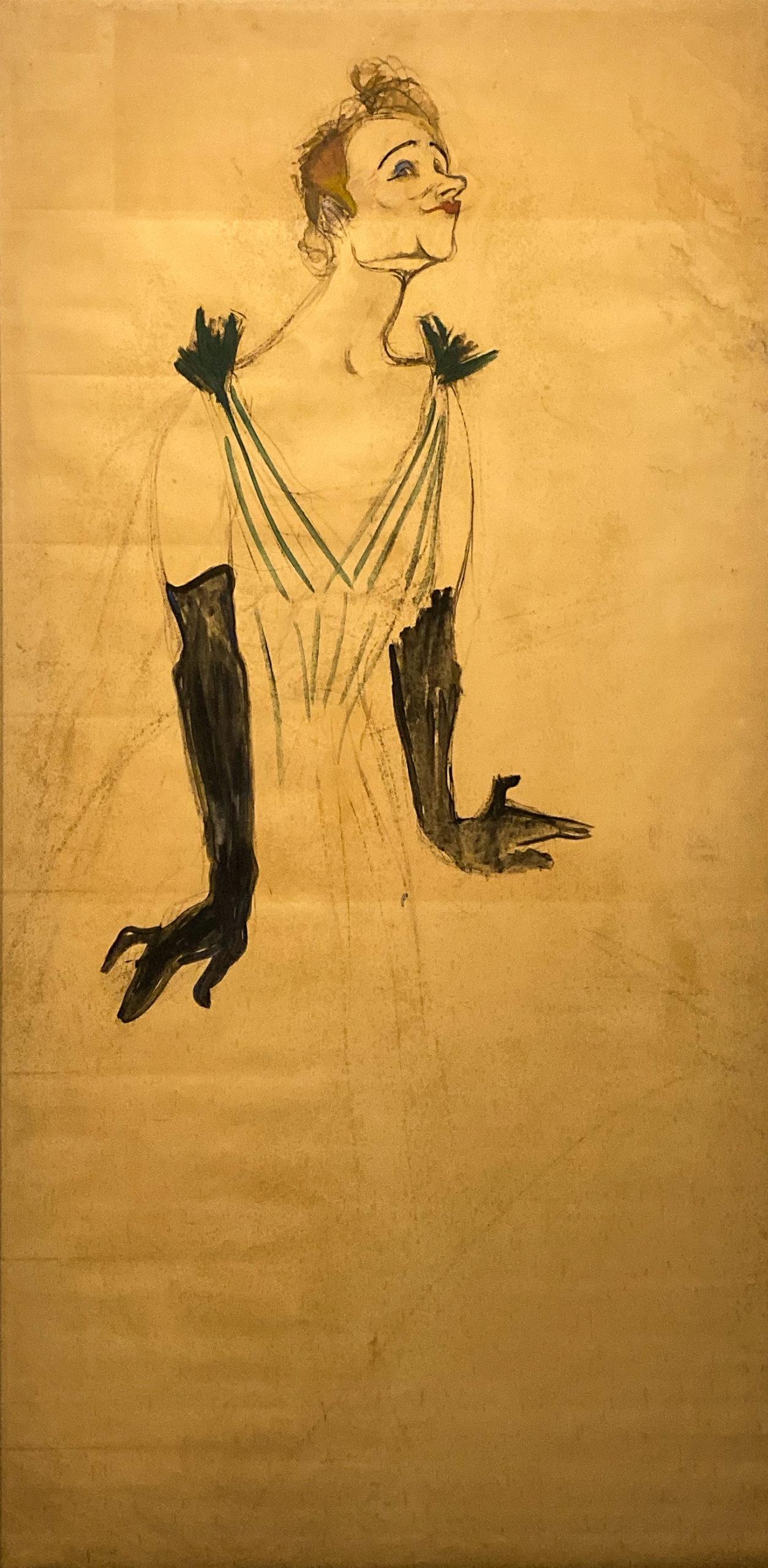 Toulouse-Lautrec im Grand Palais 2019/20 Yvette Guilbert