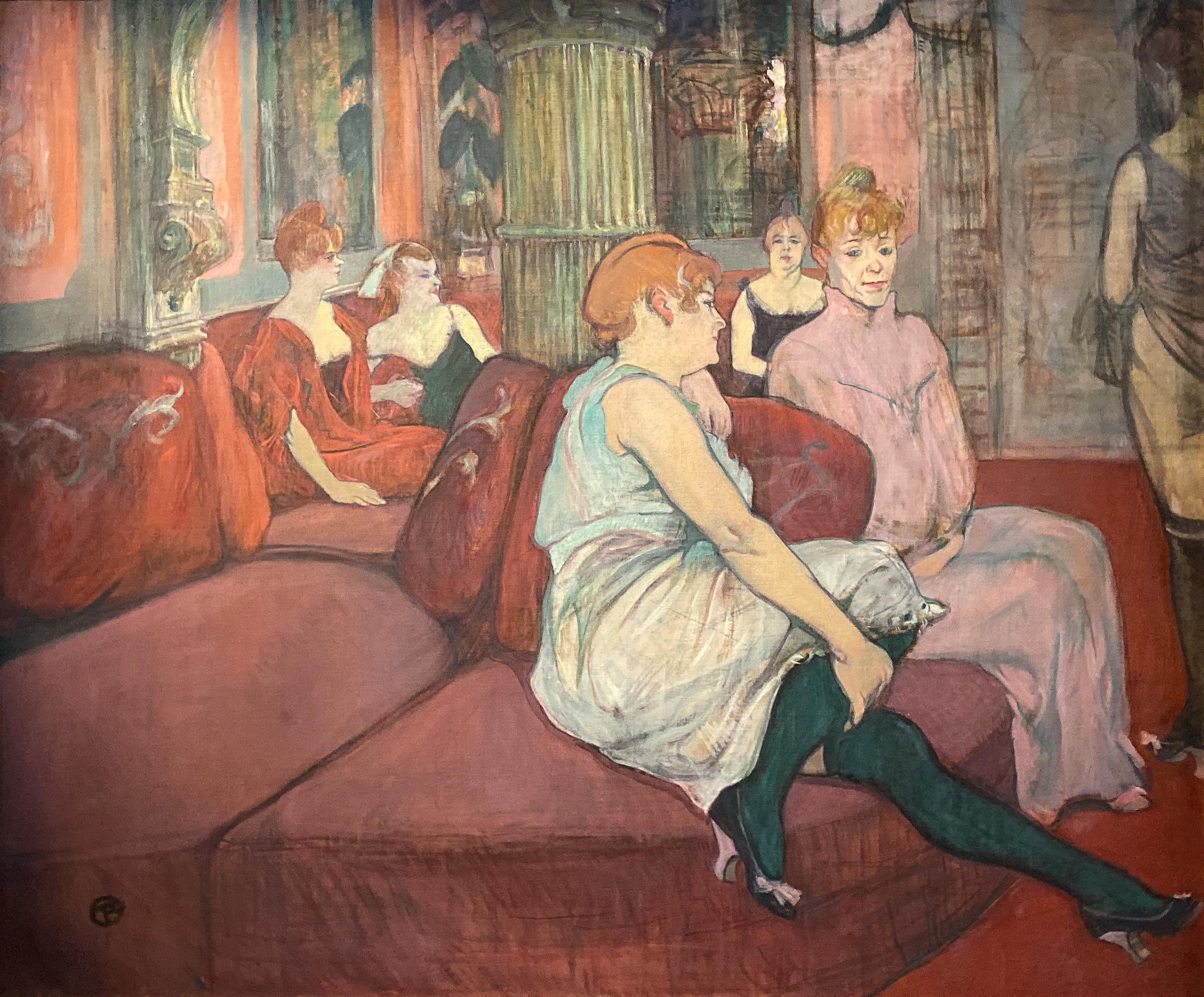 Au Salon de la rue des Moulins