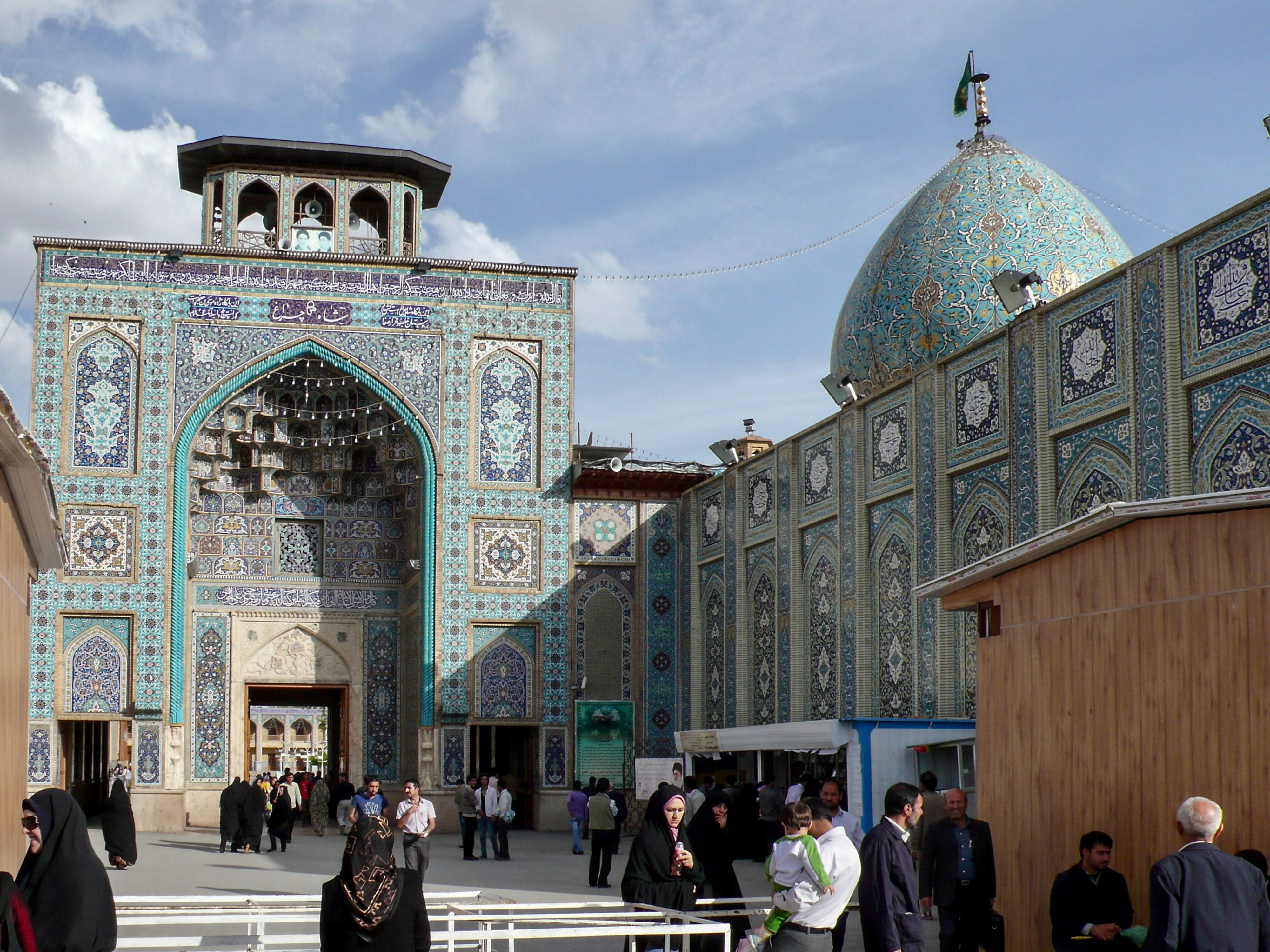 Iranische Kulturstätten in Gefahr? chat Mausoleum