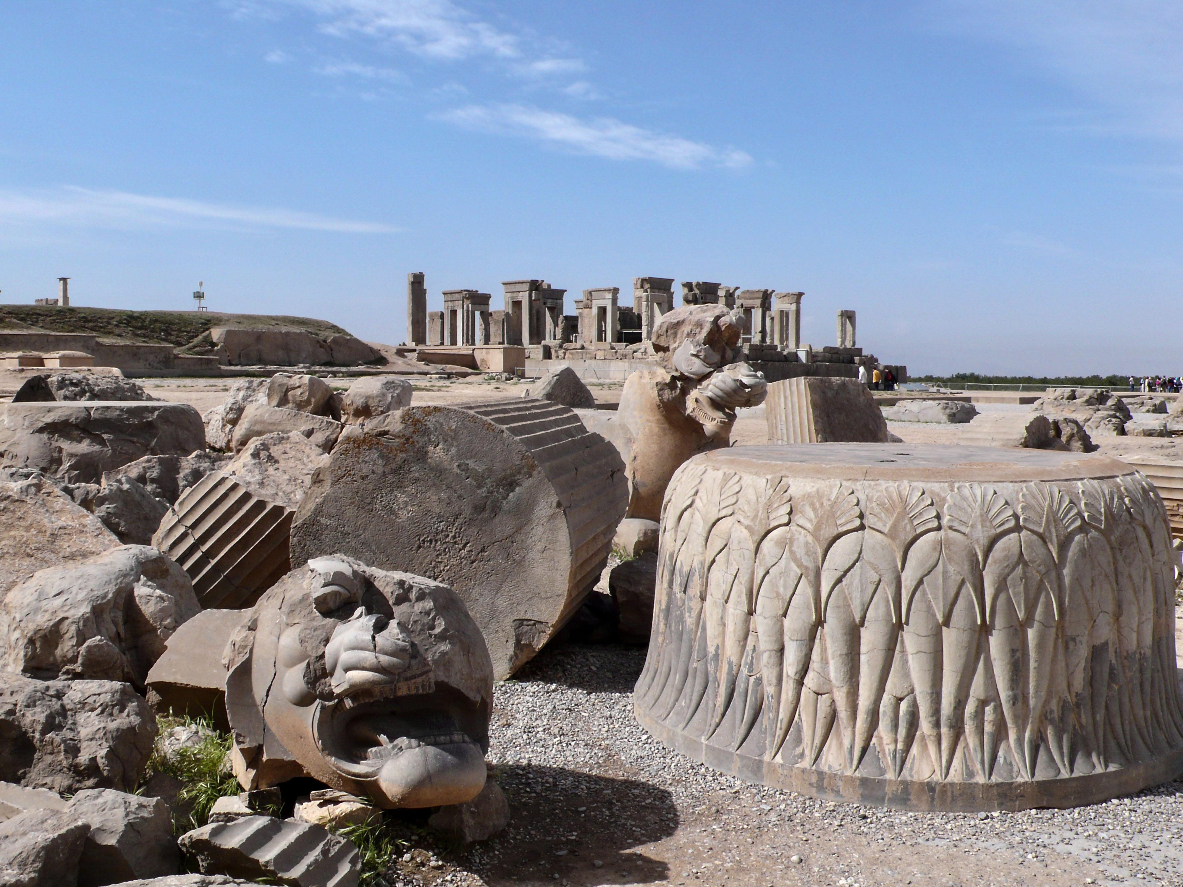 Persepolis Stadtterrasse