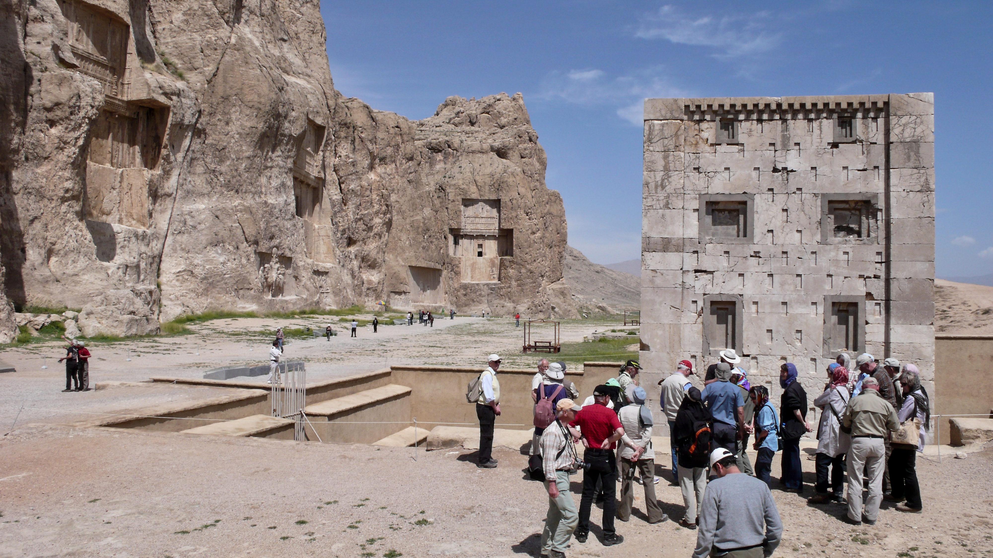 Iranische Kulturstätten in Gefahr? Nash-e Rotsah