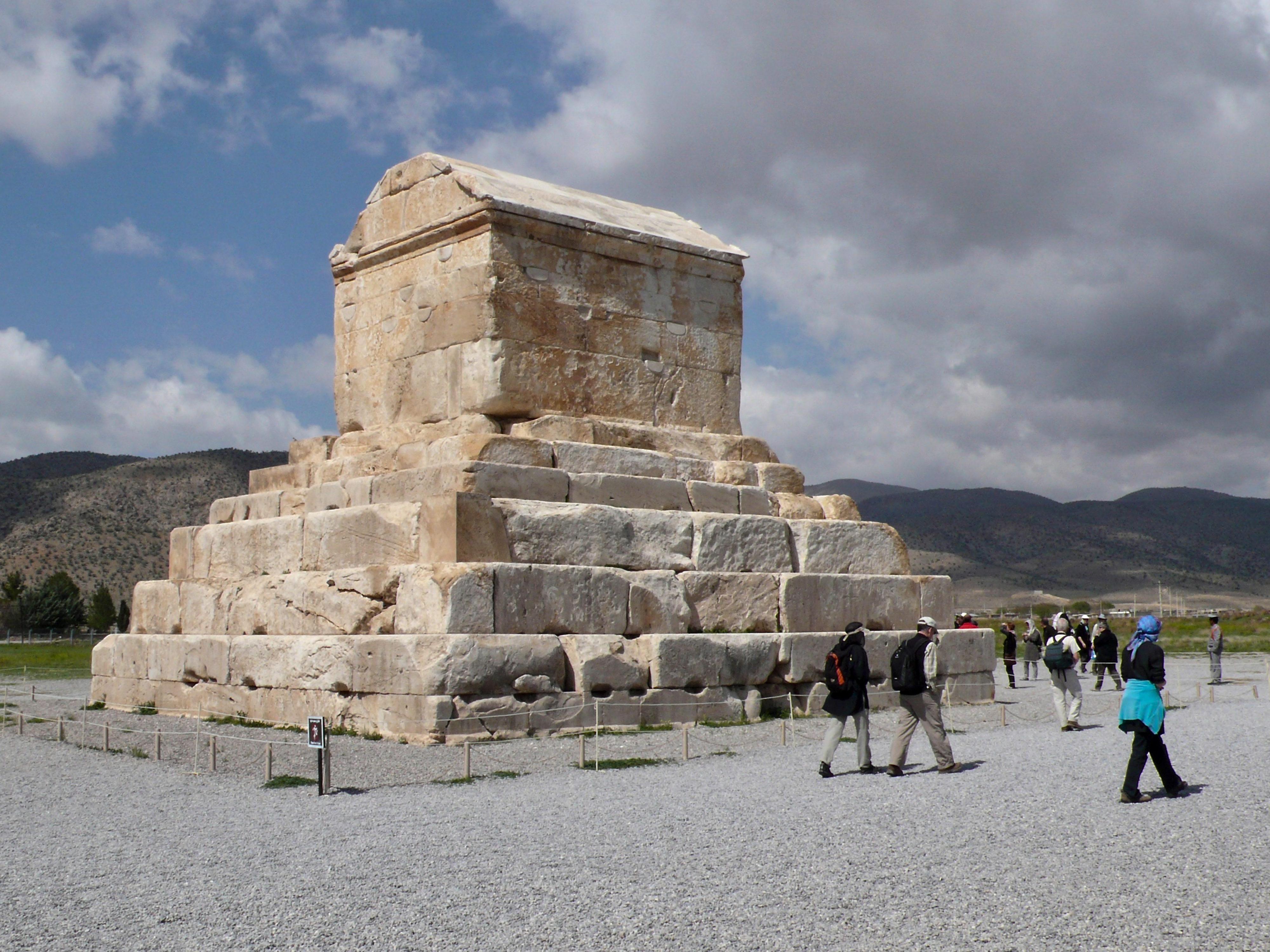 Pasargardae Grabmal Kyros II