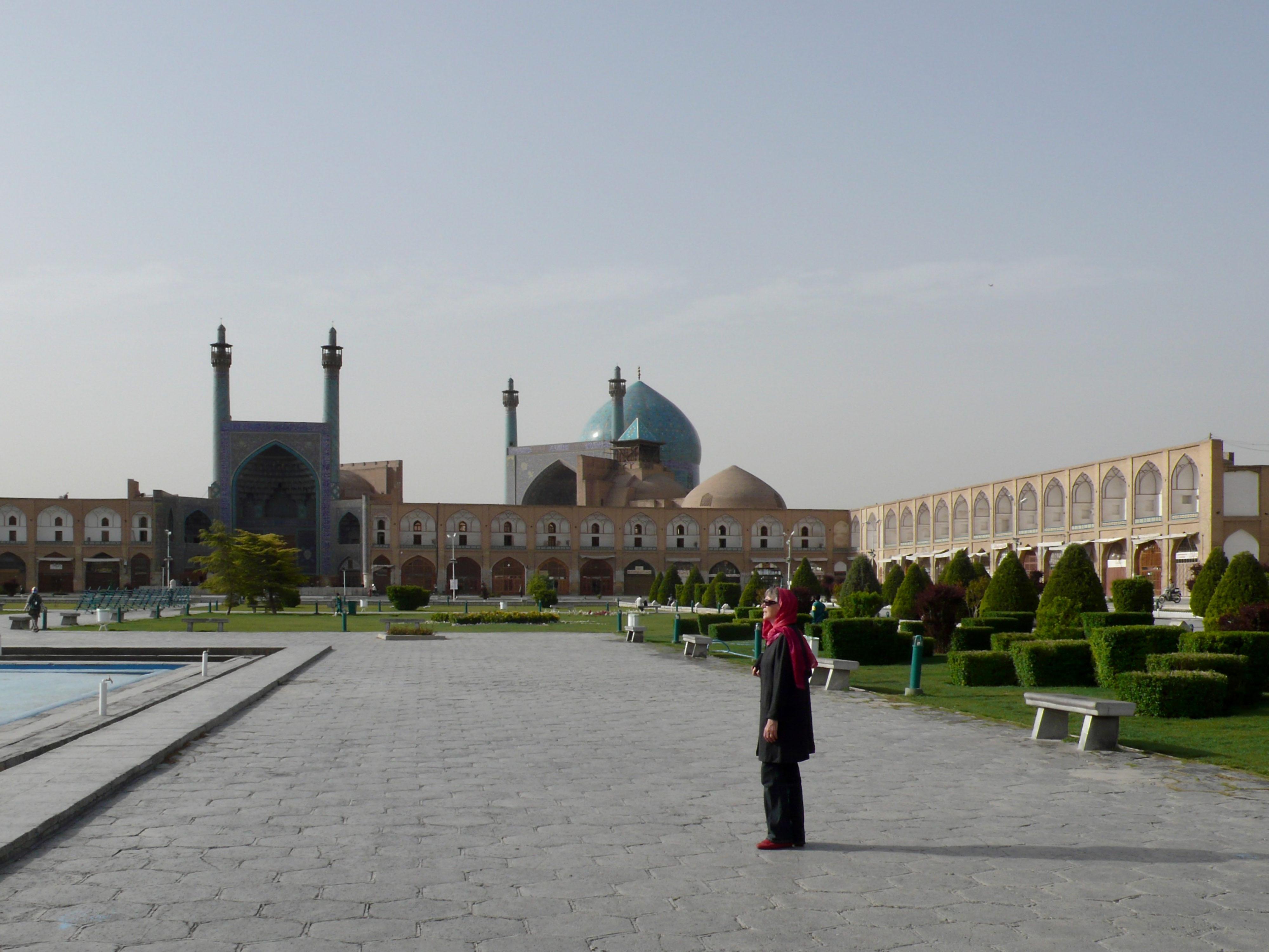 Iranische Kulturstätten in Gefahr? Masdijd-e Imam
