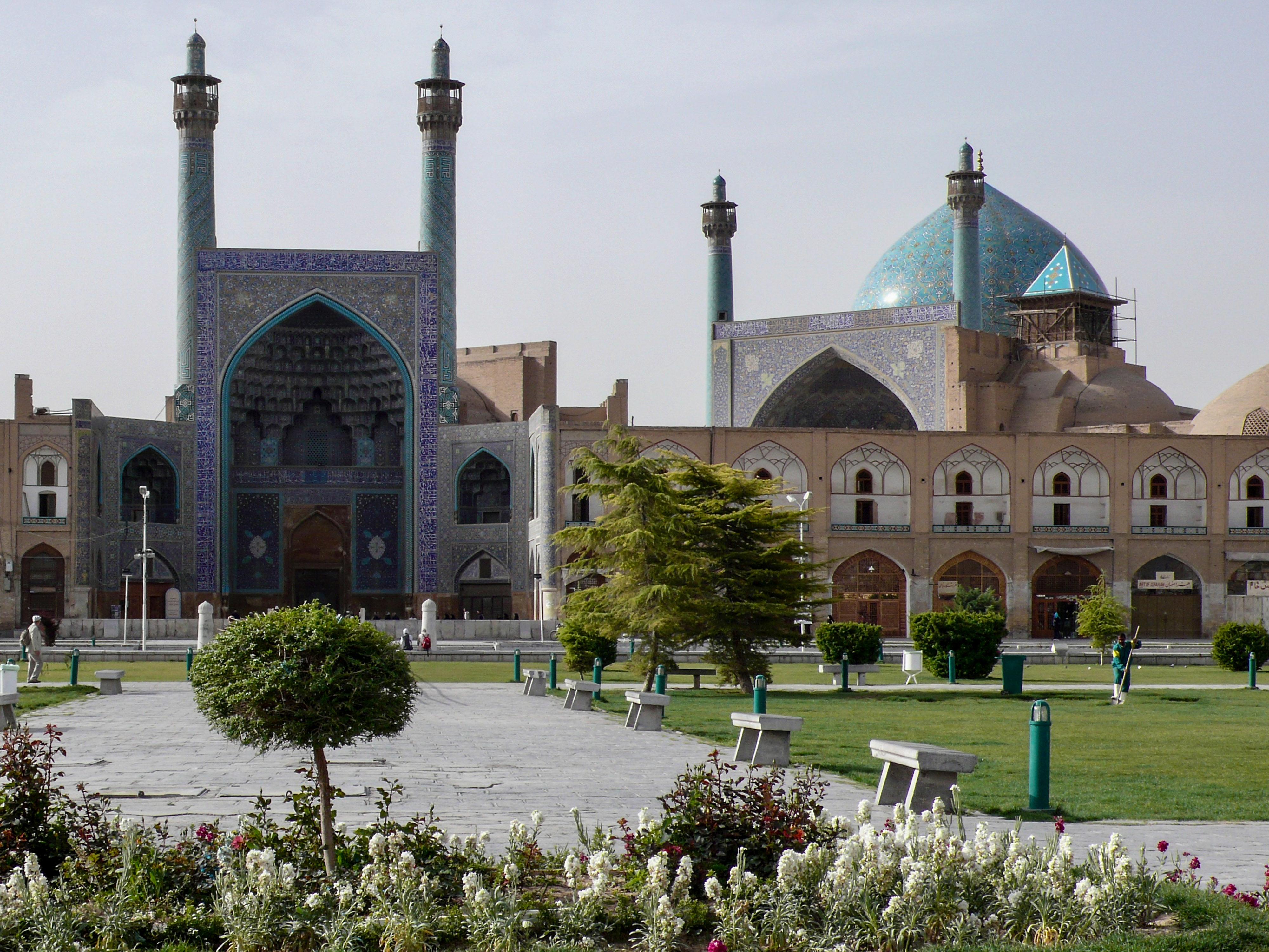 Isfahan Moschee Abbass' des Großen