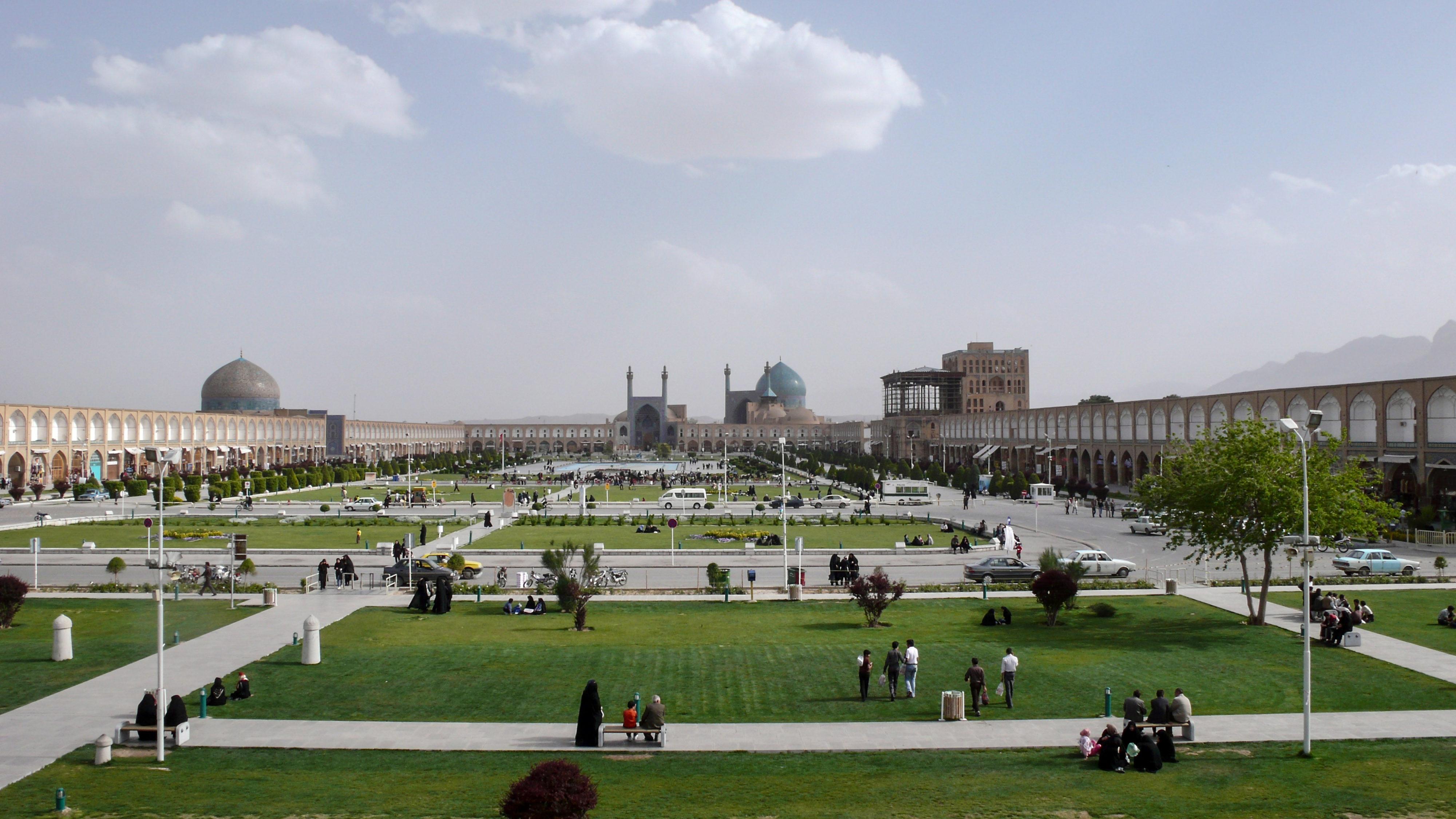 Iranische Kulturstätten in Gefahr? Isfahan Meiden-e Imam
