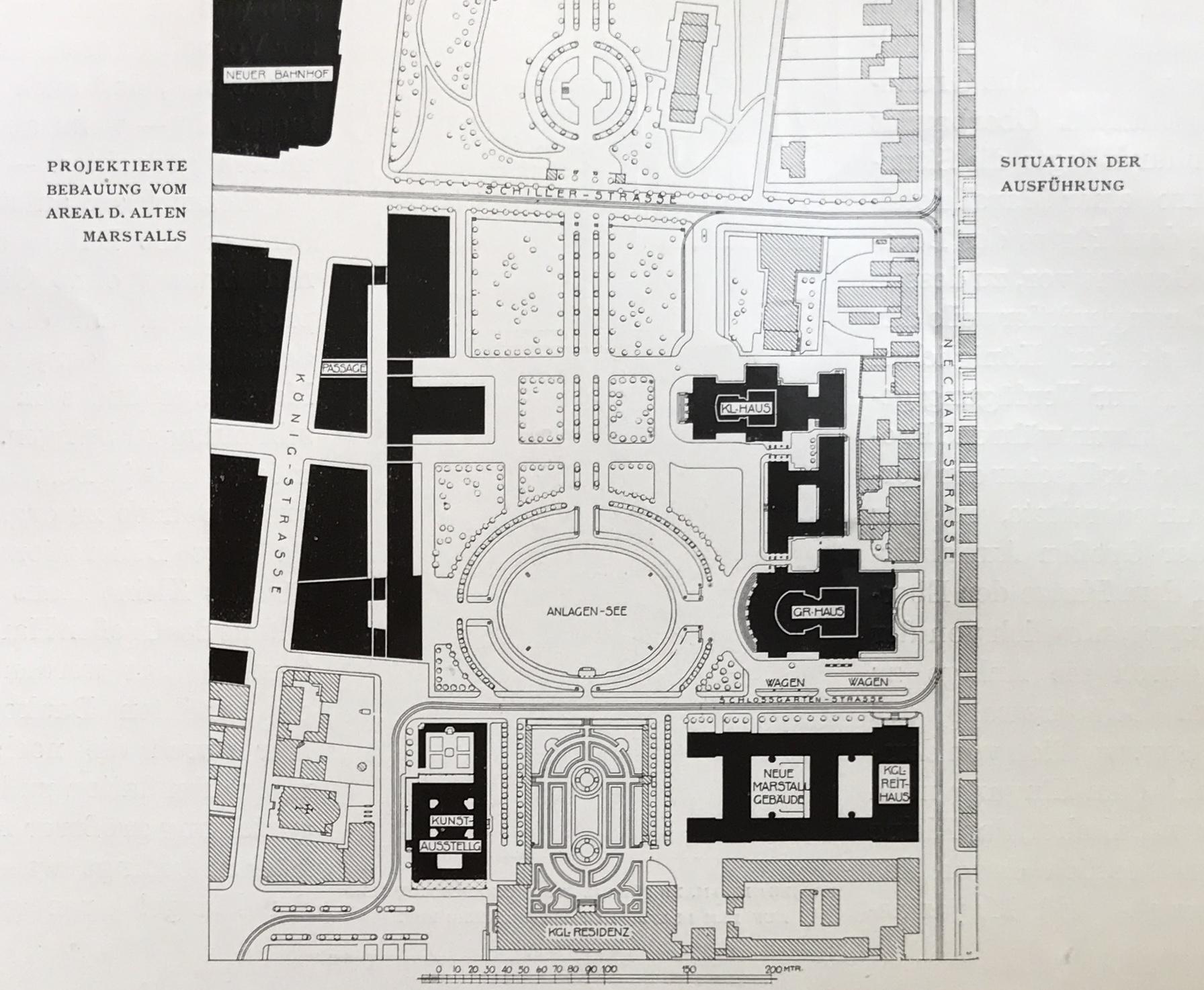 Gestaltung des Marstall-Areals durch Max Littmann – eine Anregung für heute?