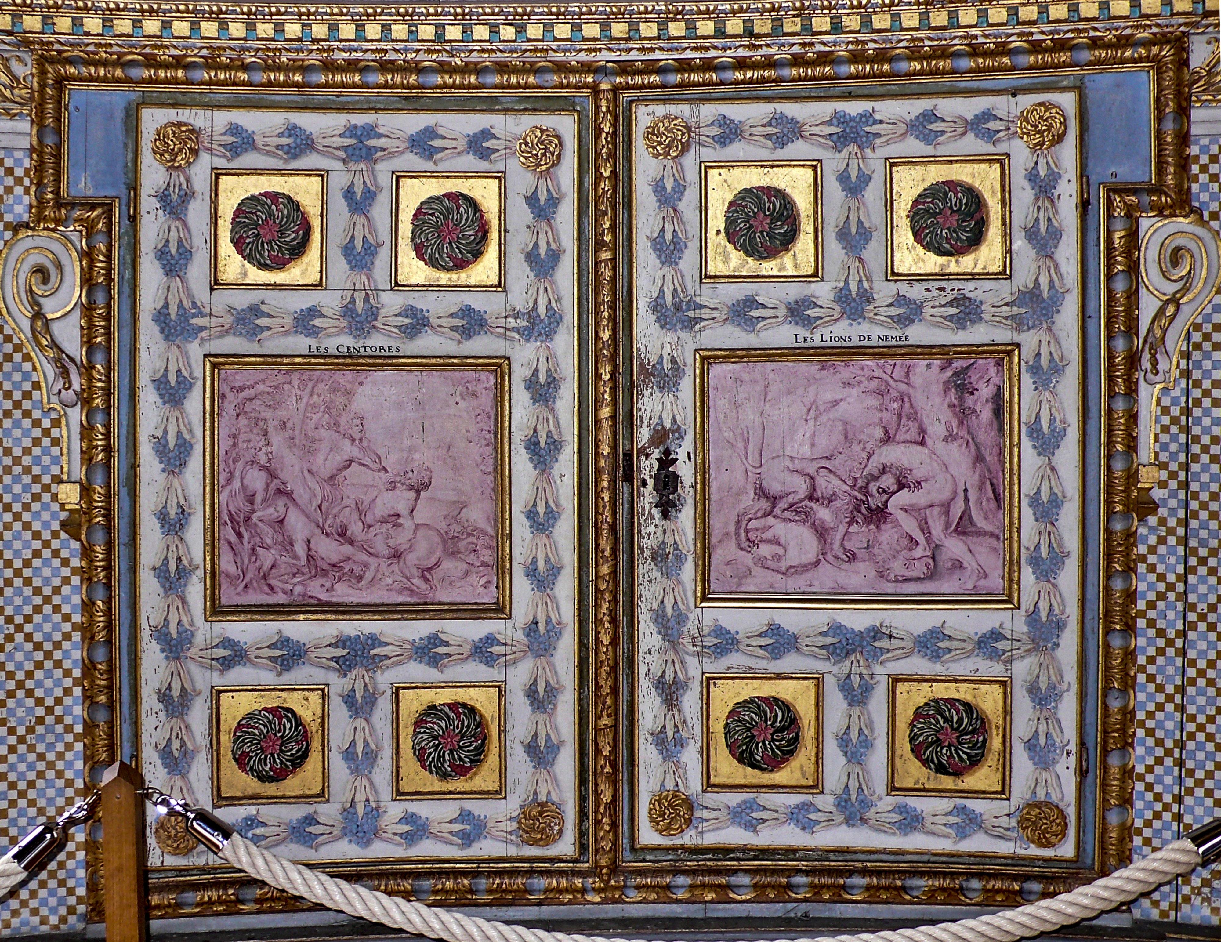 Der Künstler und die Liebe zu seinem Werk Kentaurenkampf und Herkules