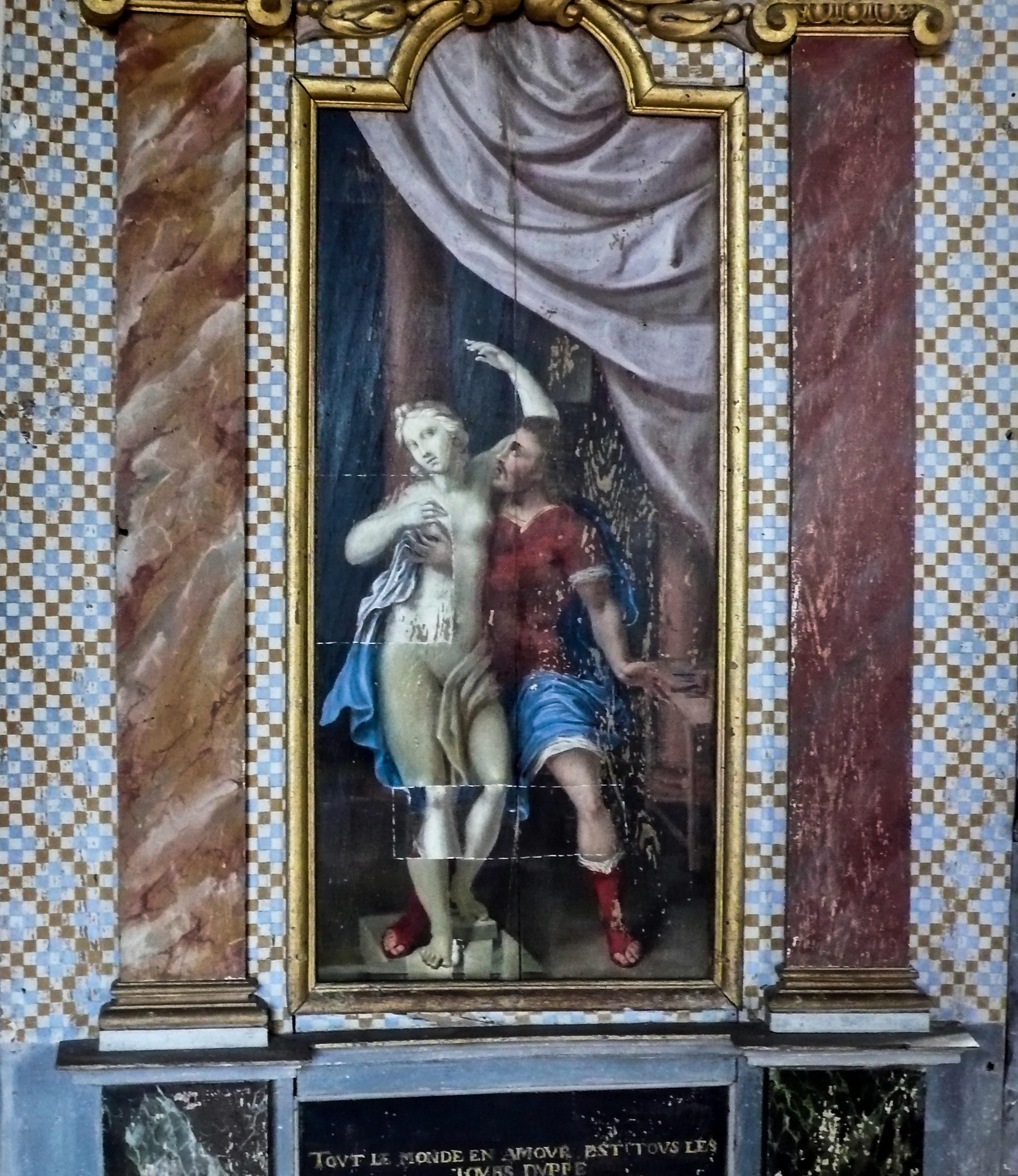 Der Künstler und die Liebe zu seinem Werk Umsetzung von Ovid in Malerei