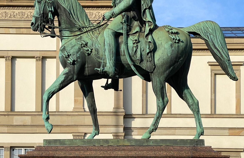 Vermutlich Bairactar OA und König Wilhelm I.
