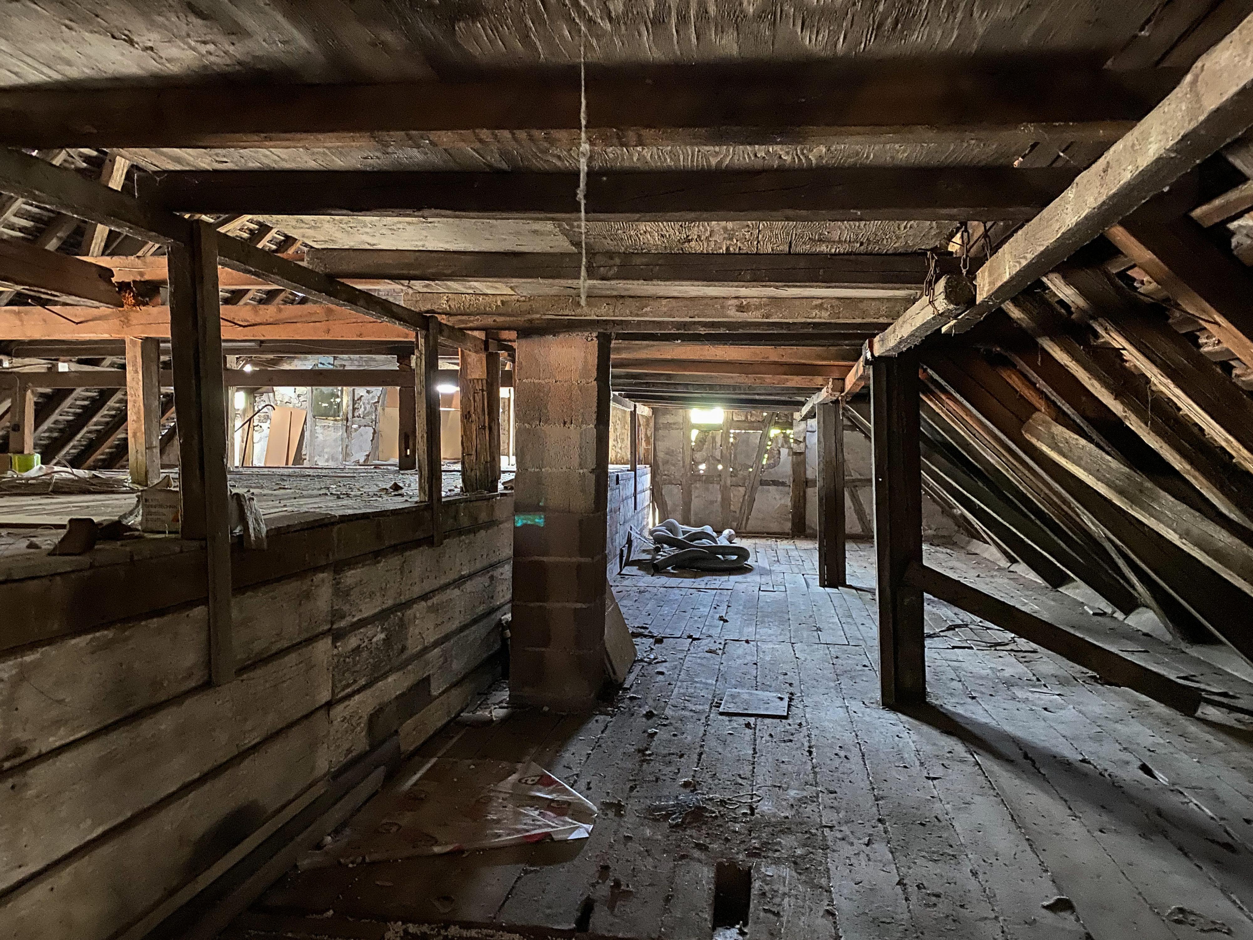 Dachboden vom Alten Stutenstall in Weil