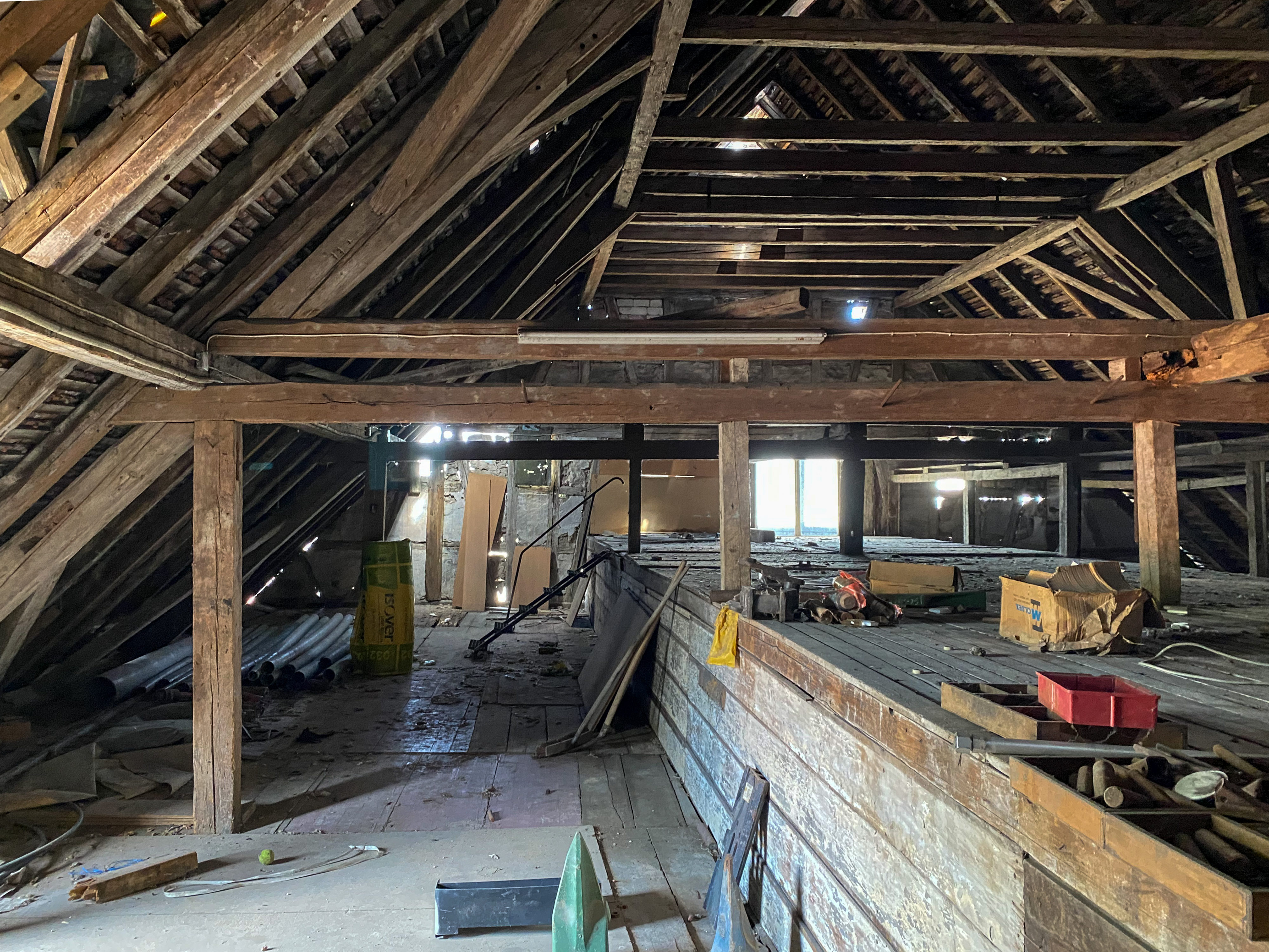 Dachgeschoss vom Alten Stutenstall in Weil