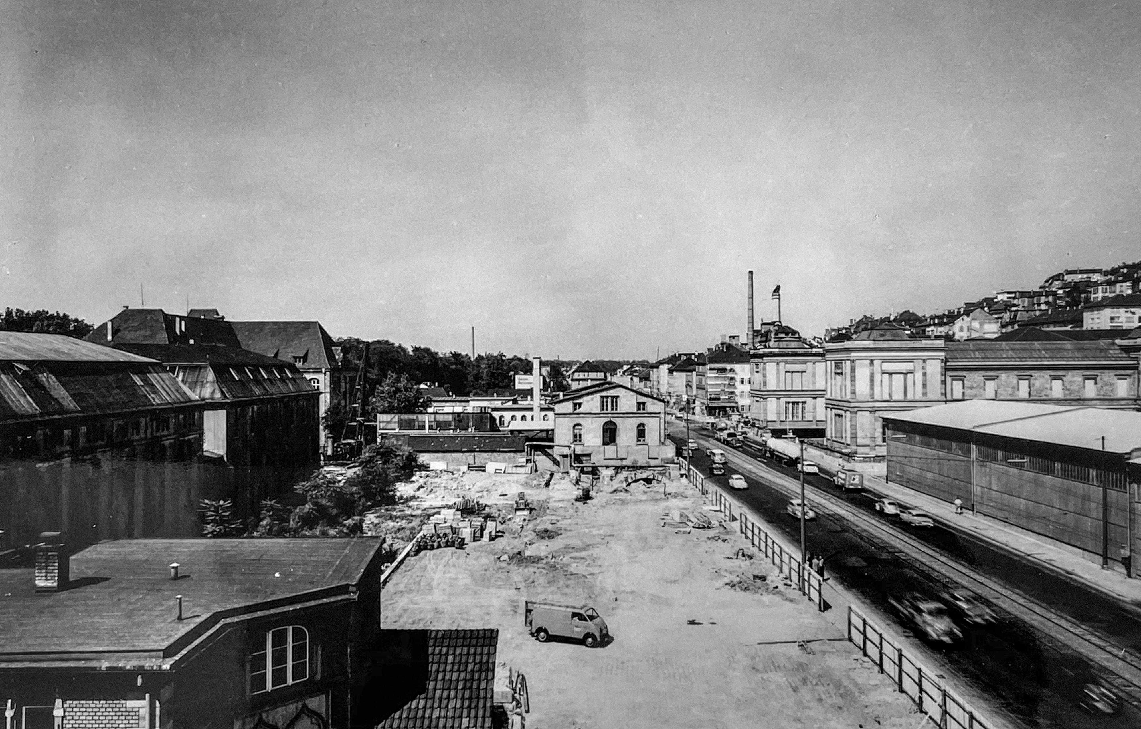 Kulturmeile: Münze und Alte Staatsgalerie 22.7.1959