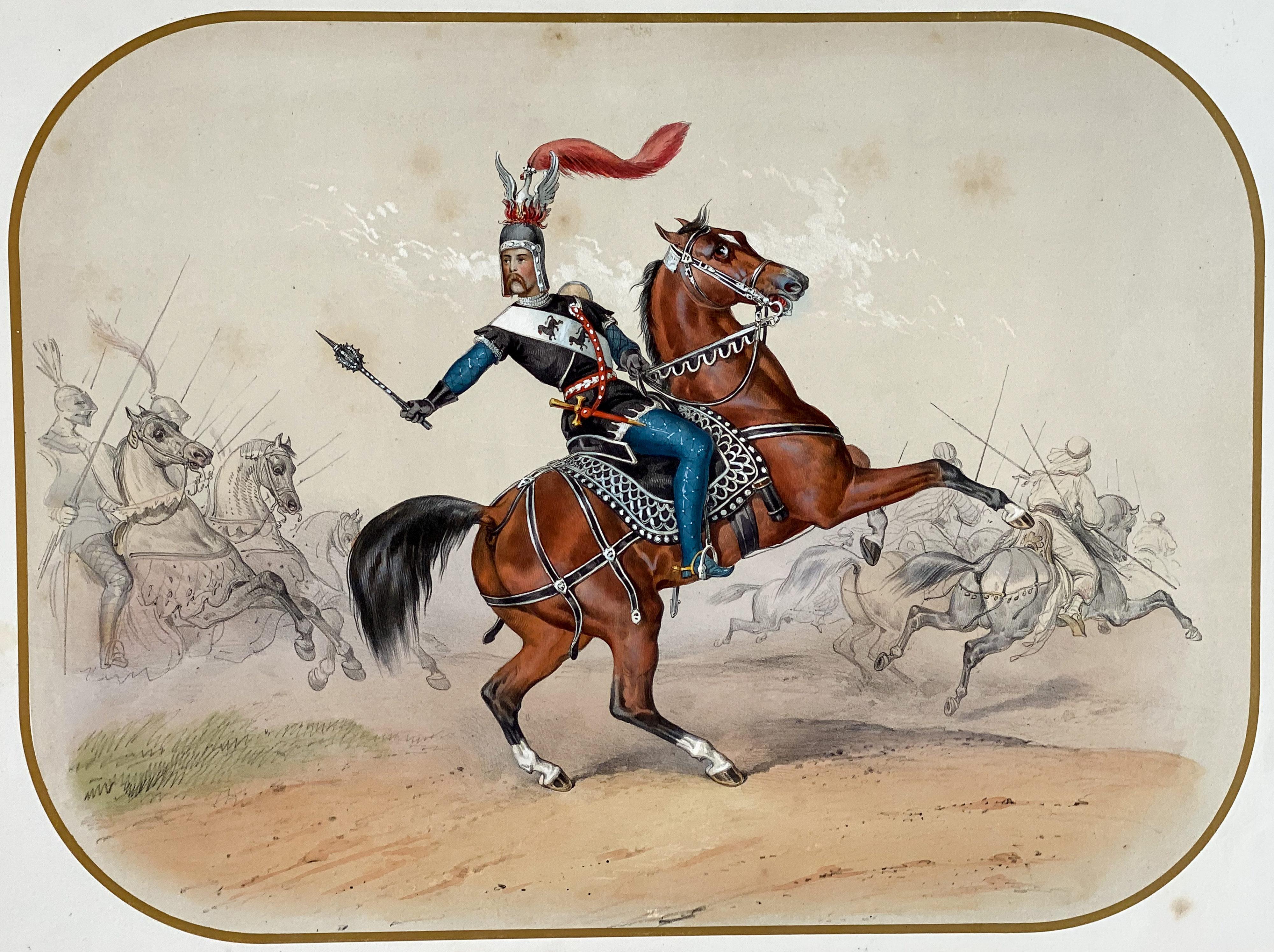 Reiterfest/Caroussel: Einzug weiterer Ritter – Prinz Felix Hohenlohe-Öhringen