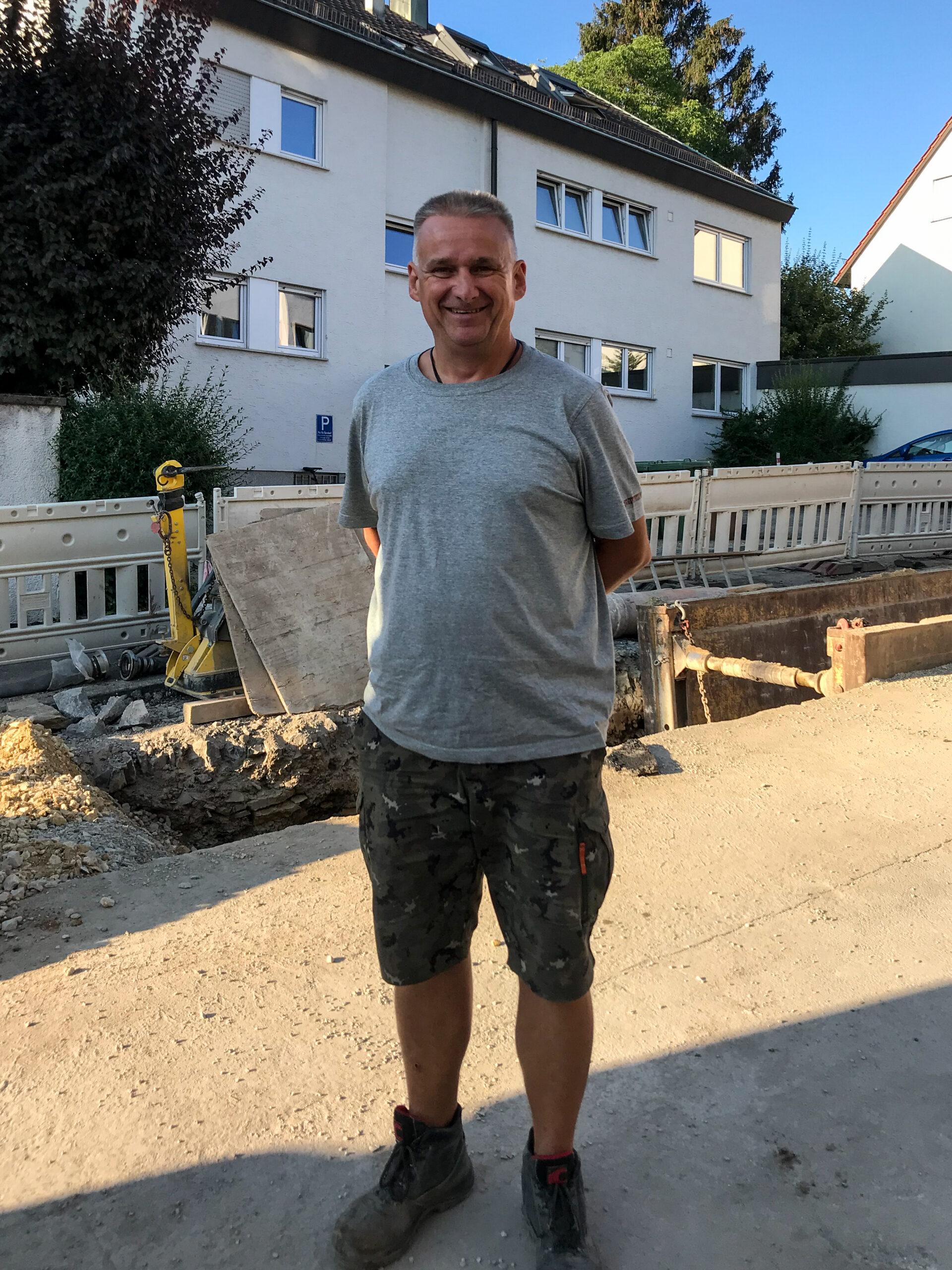 Gerd Schöllhammer, der LKW-Fahrer