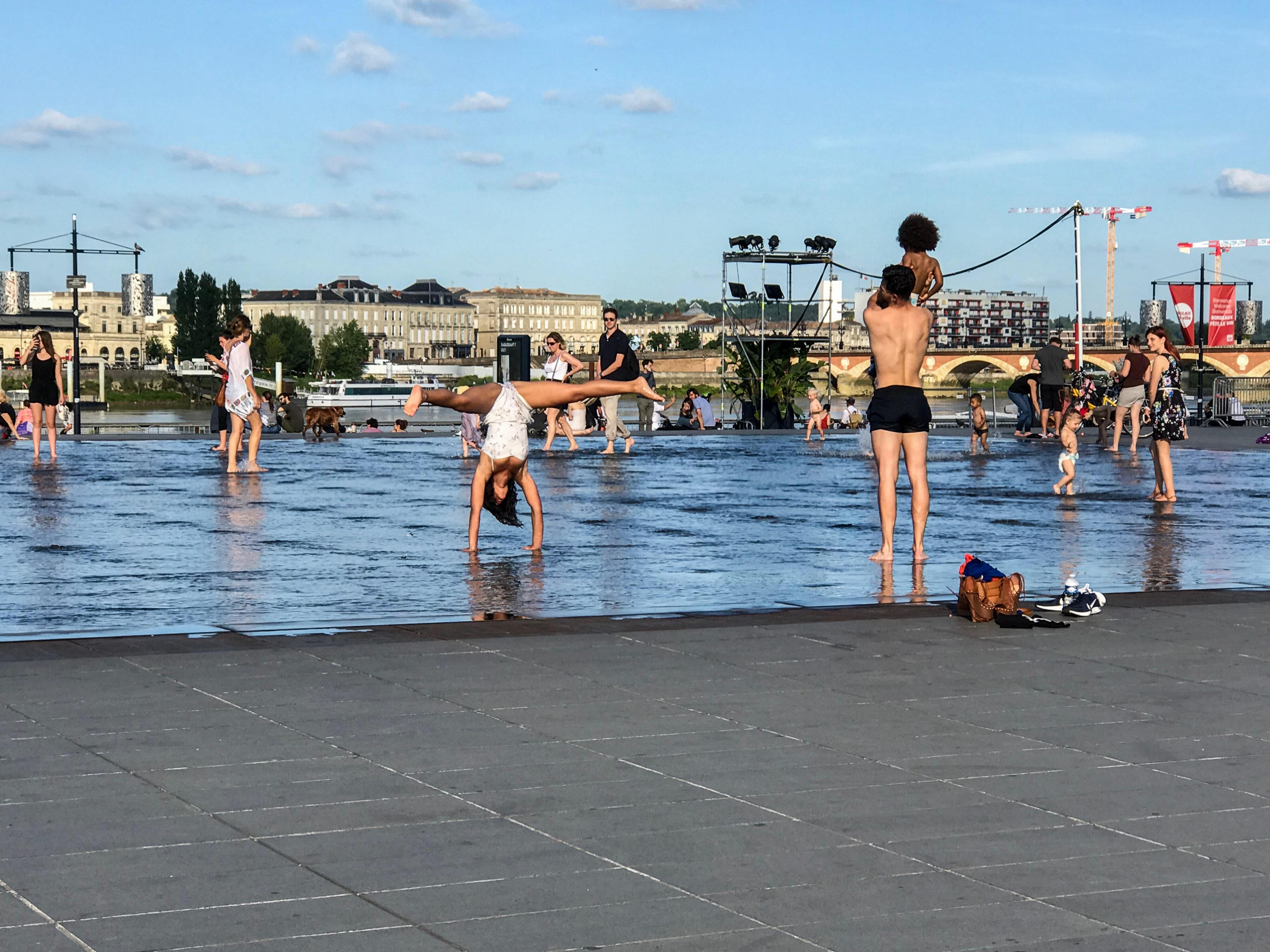 Bordeaux – Michel Corajouds Wasserspiegel