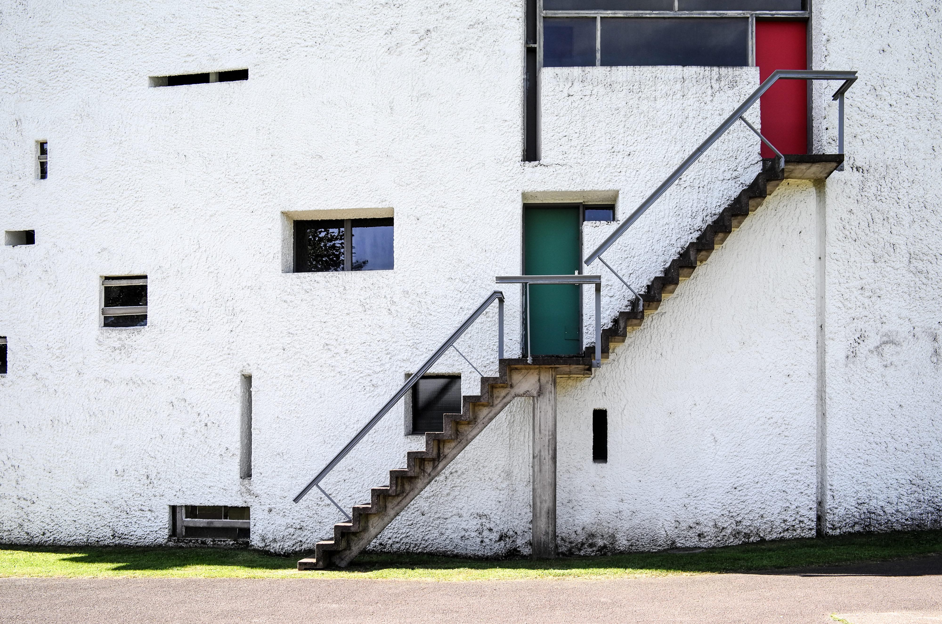 Le Corbusiers kühne Treppe