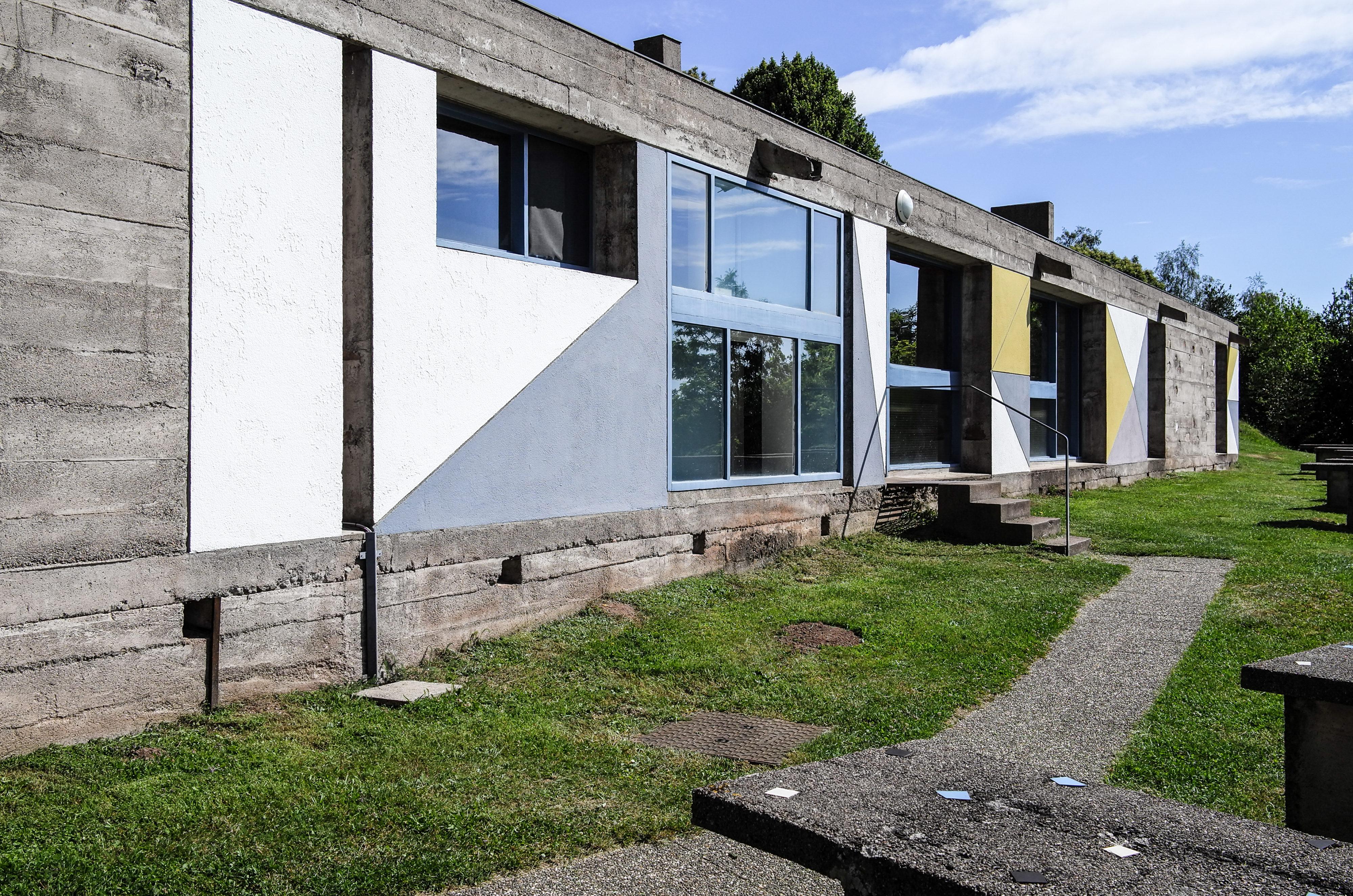 Ronchamp – Nebengebäude Haus der Arbeiter