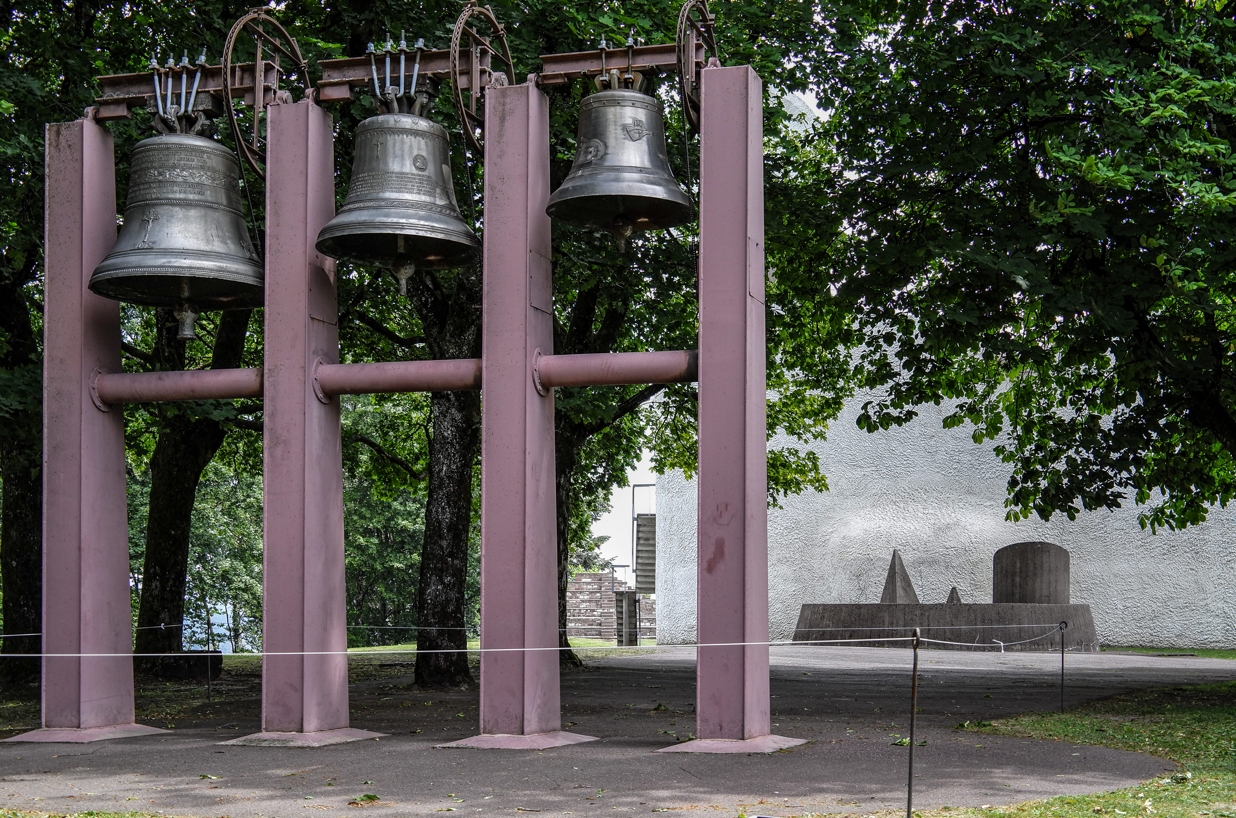 Jean Prouvé Glockenwand