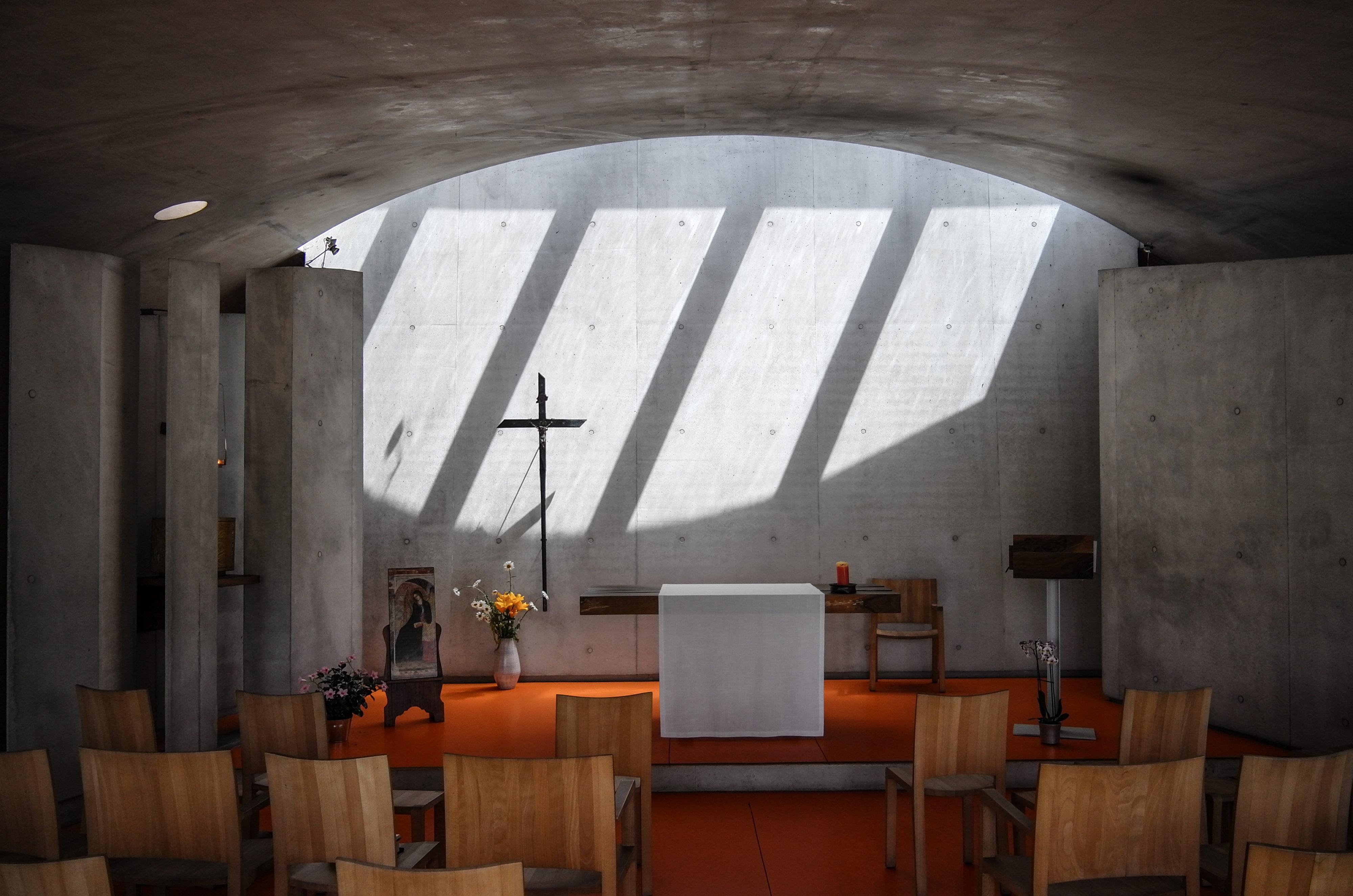 Renzo Piano Oratorium der Klarissen