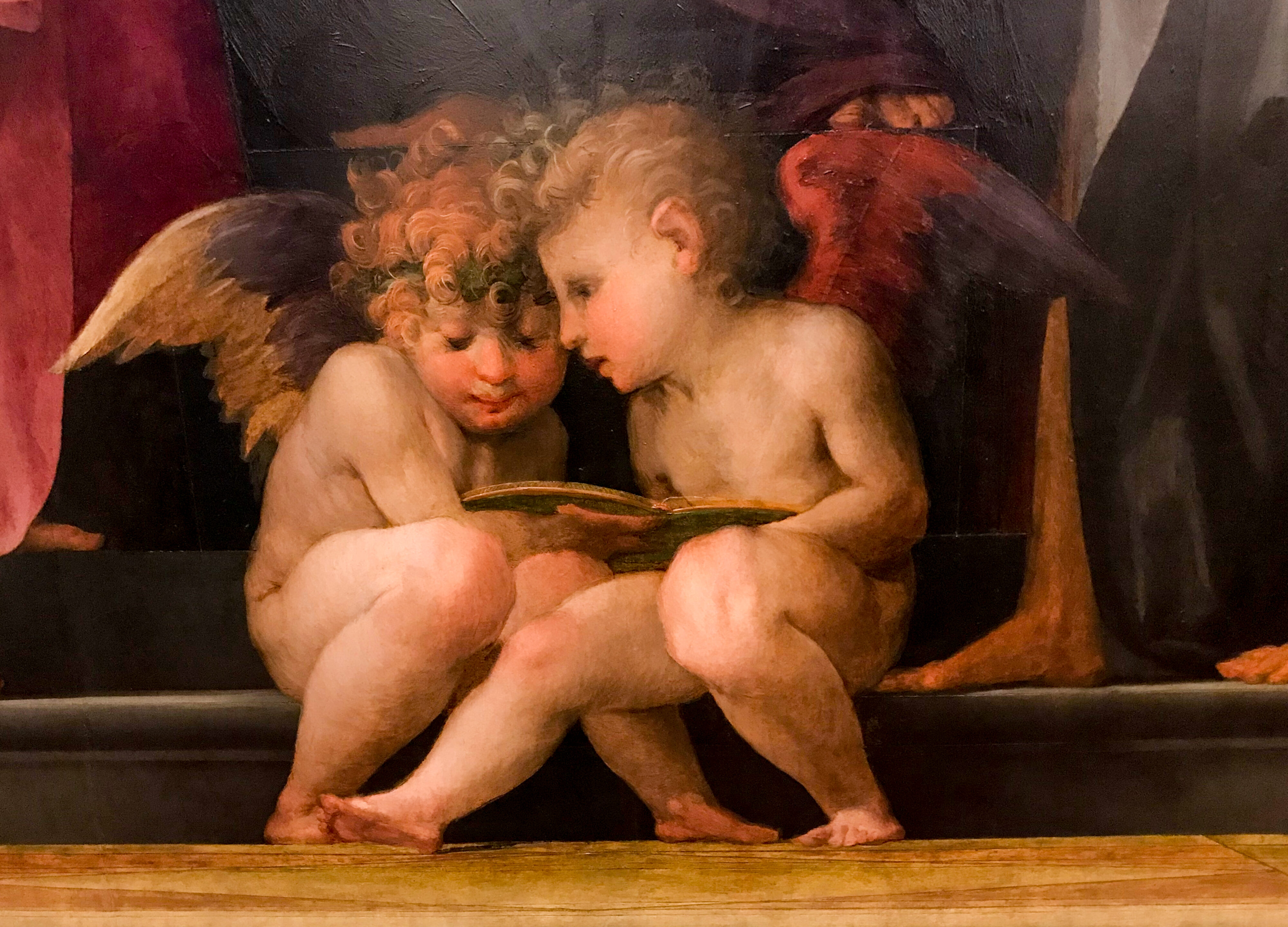 Uffizien Rosso Fiorentino Enkelkinder