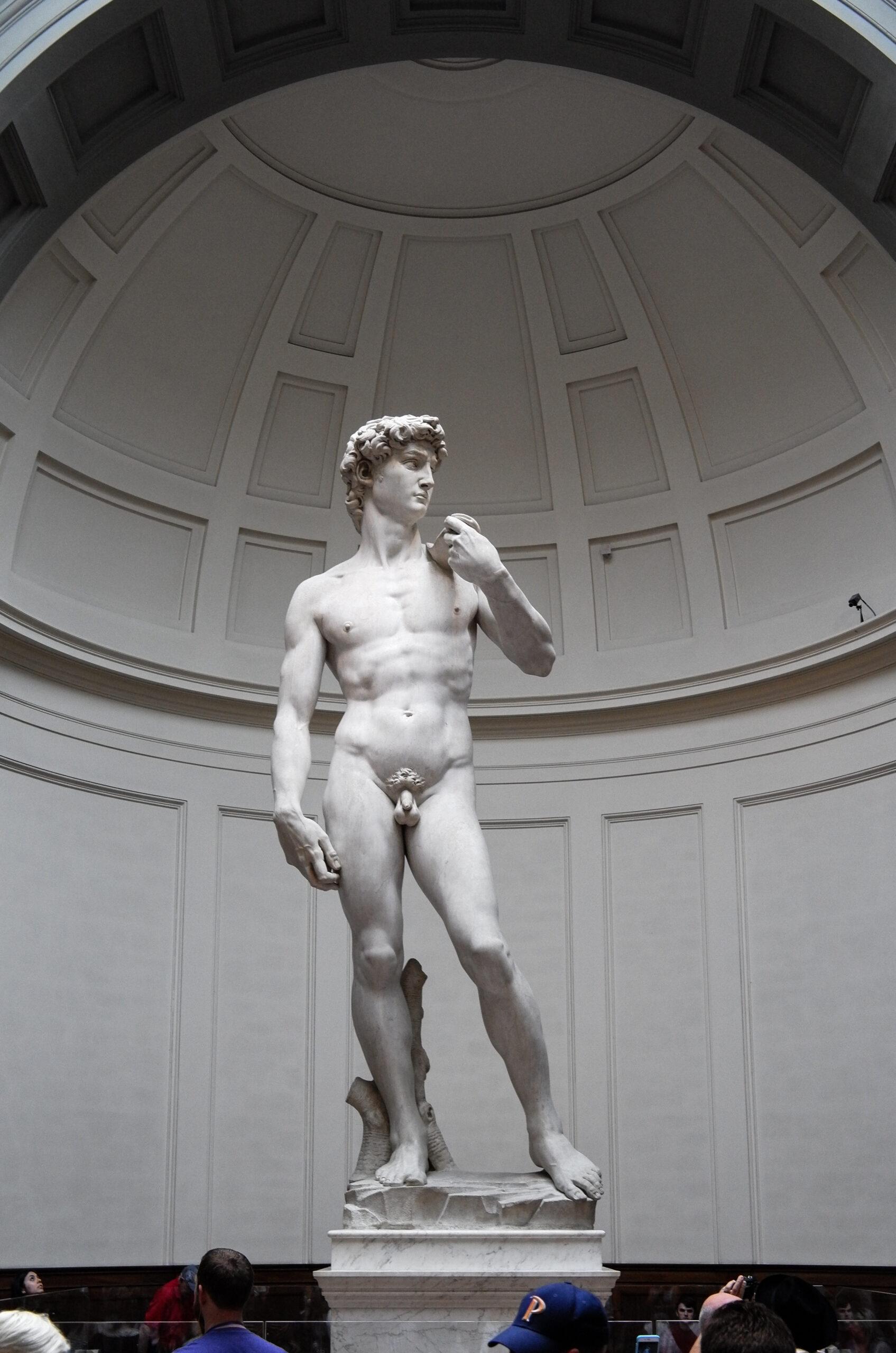 Michelangelos David berühmteste Skulptur weltweit