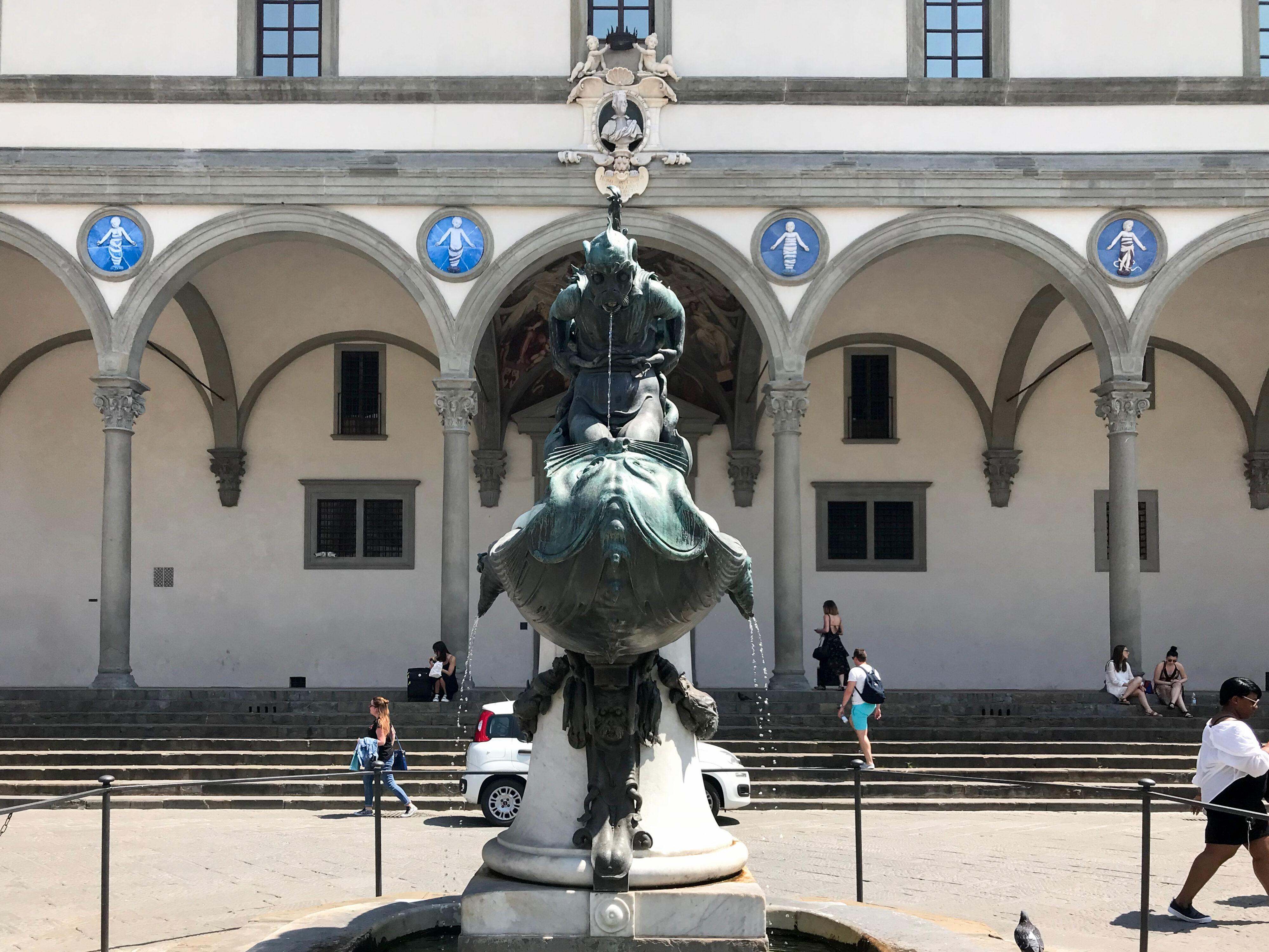 Pietro Tacca und La Petraia Brunnen 1