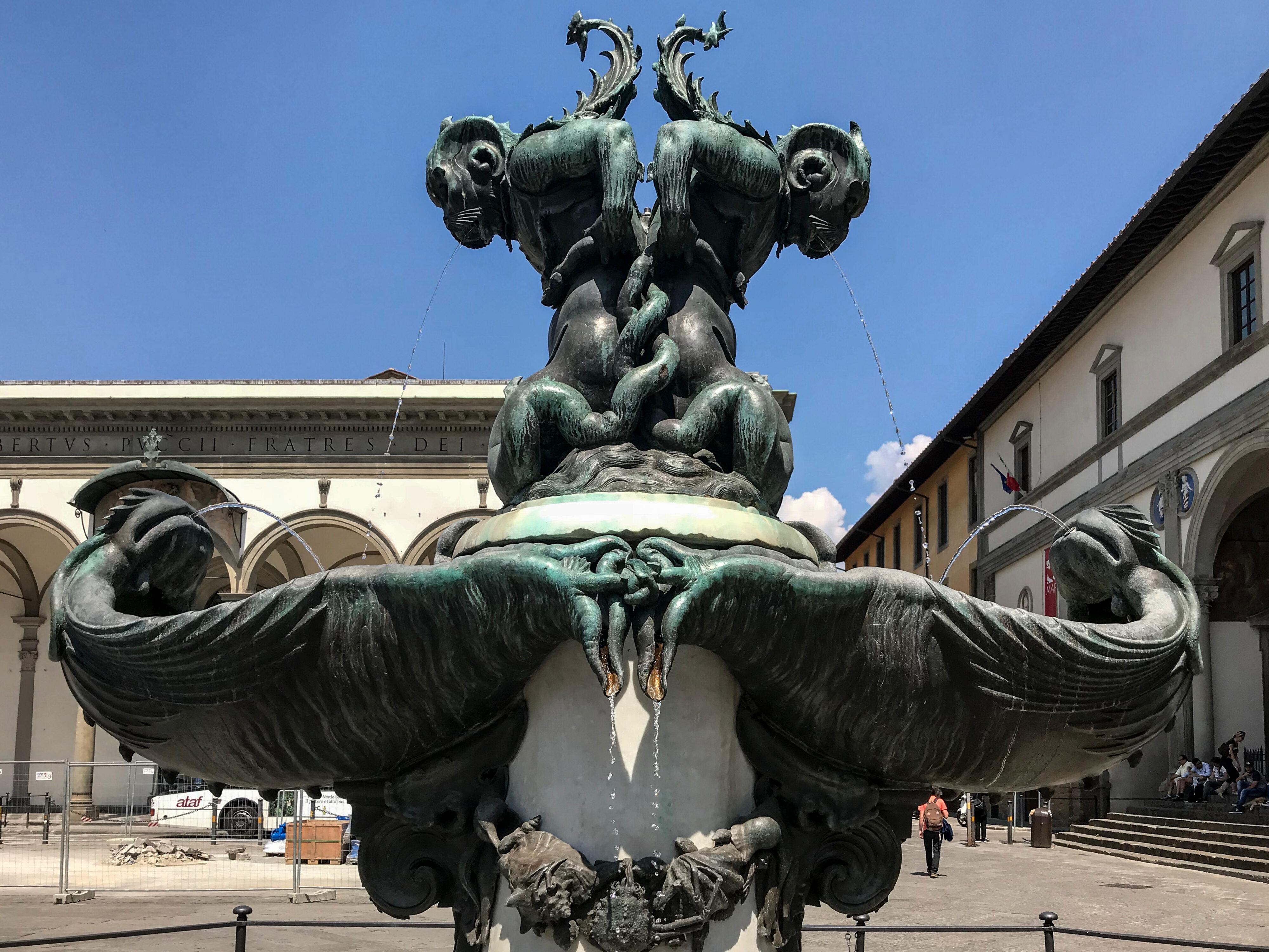Pietro Tacca Brunnen 3