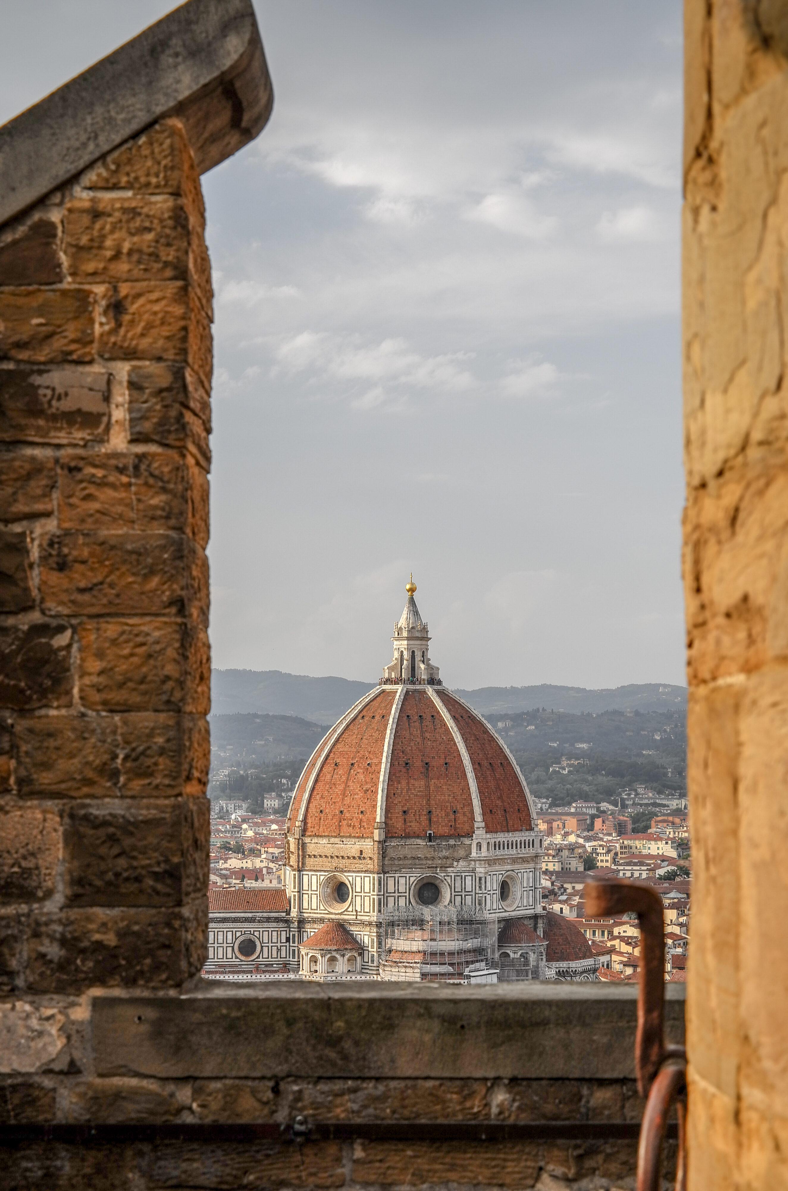 Florenz – Palazzo Vecchio und sein Aussichtsturm Domkuppel