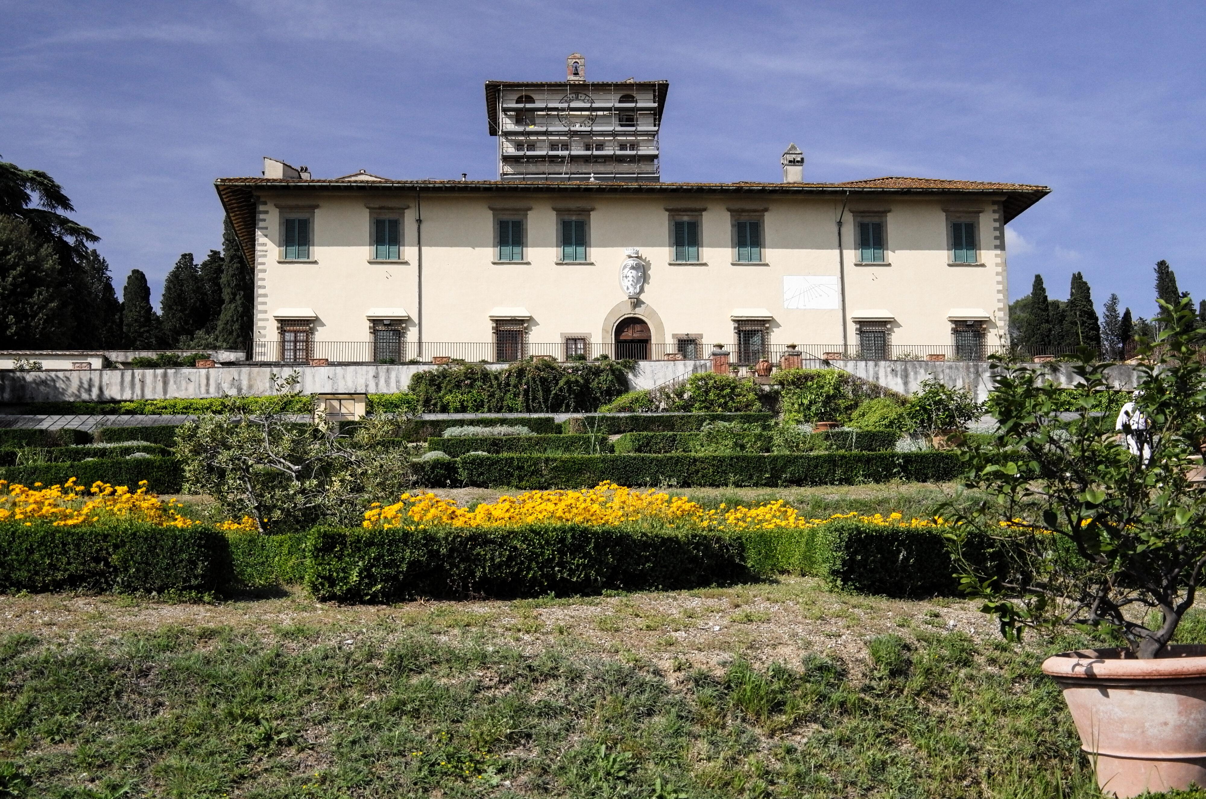 Villa la Petraia in Castello