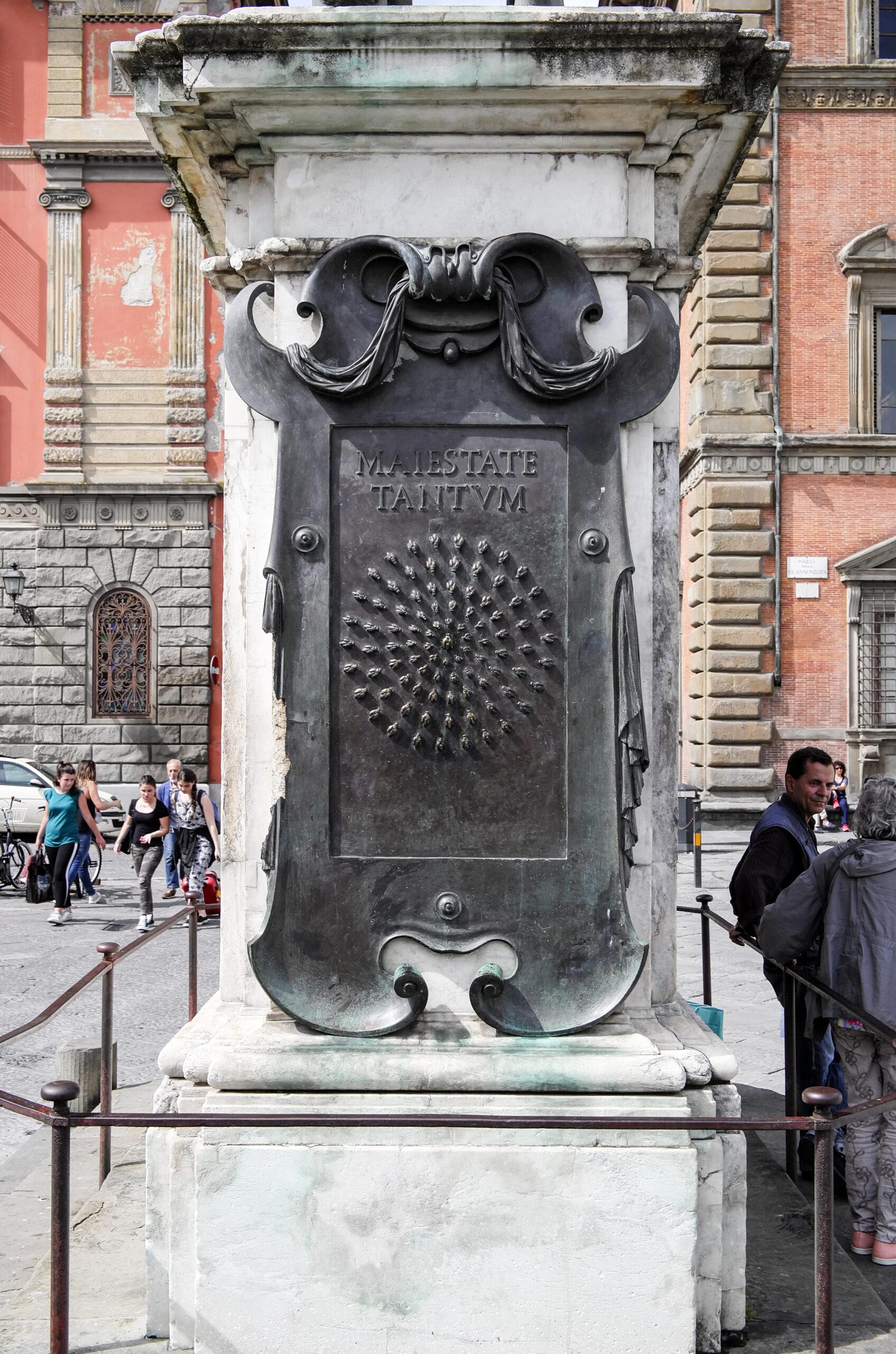 Pietro Tacca und La Petraia Wahlspruch von Ferdinand I