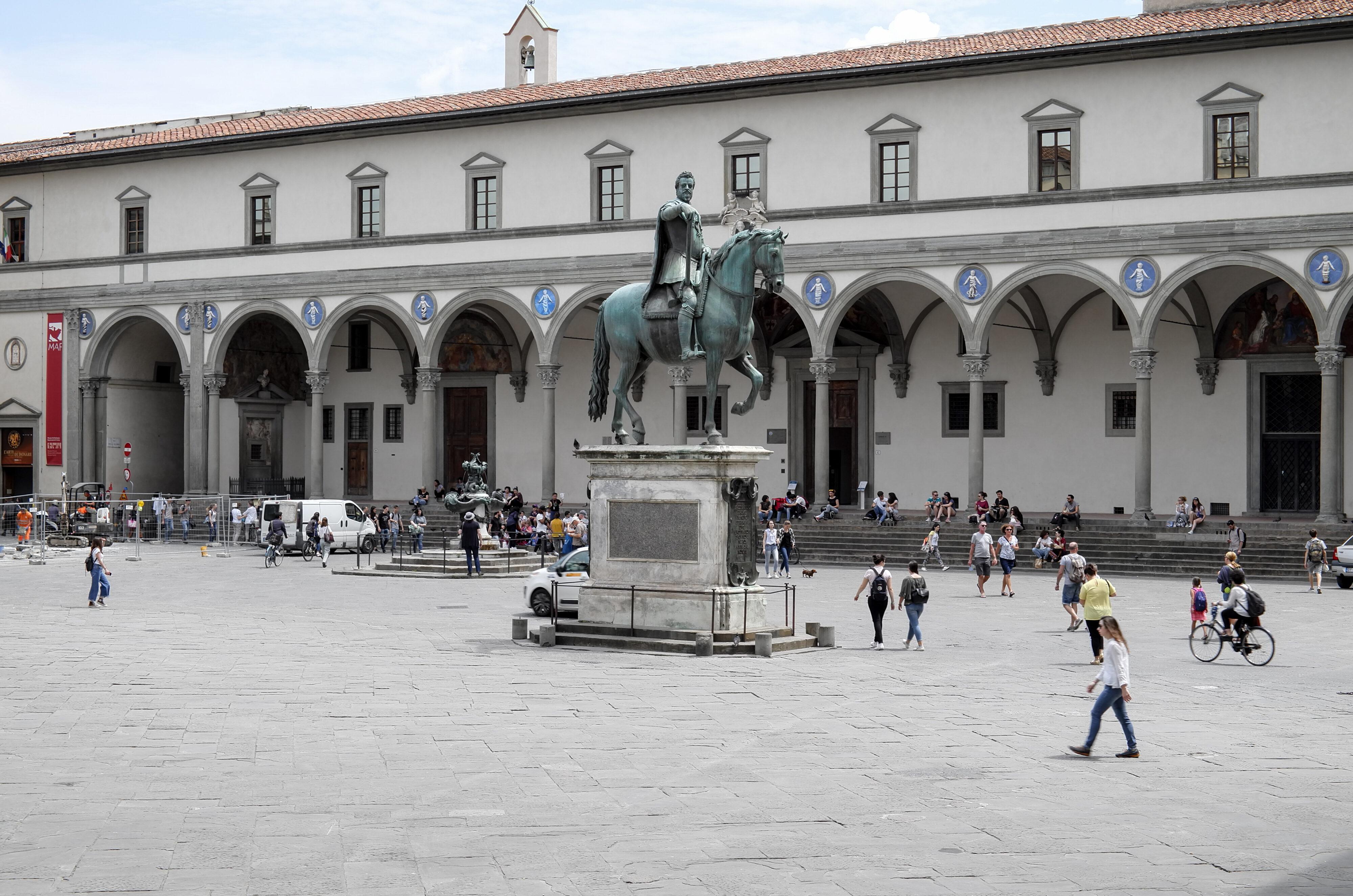 Florenz Piazza SS. Annunziata Brunelleschi