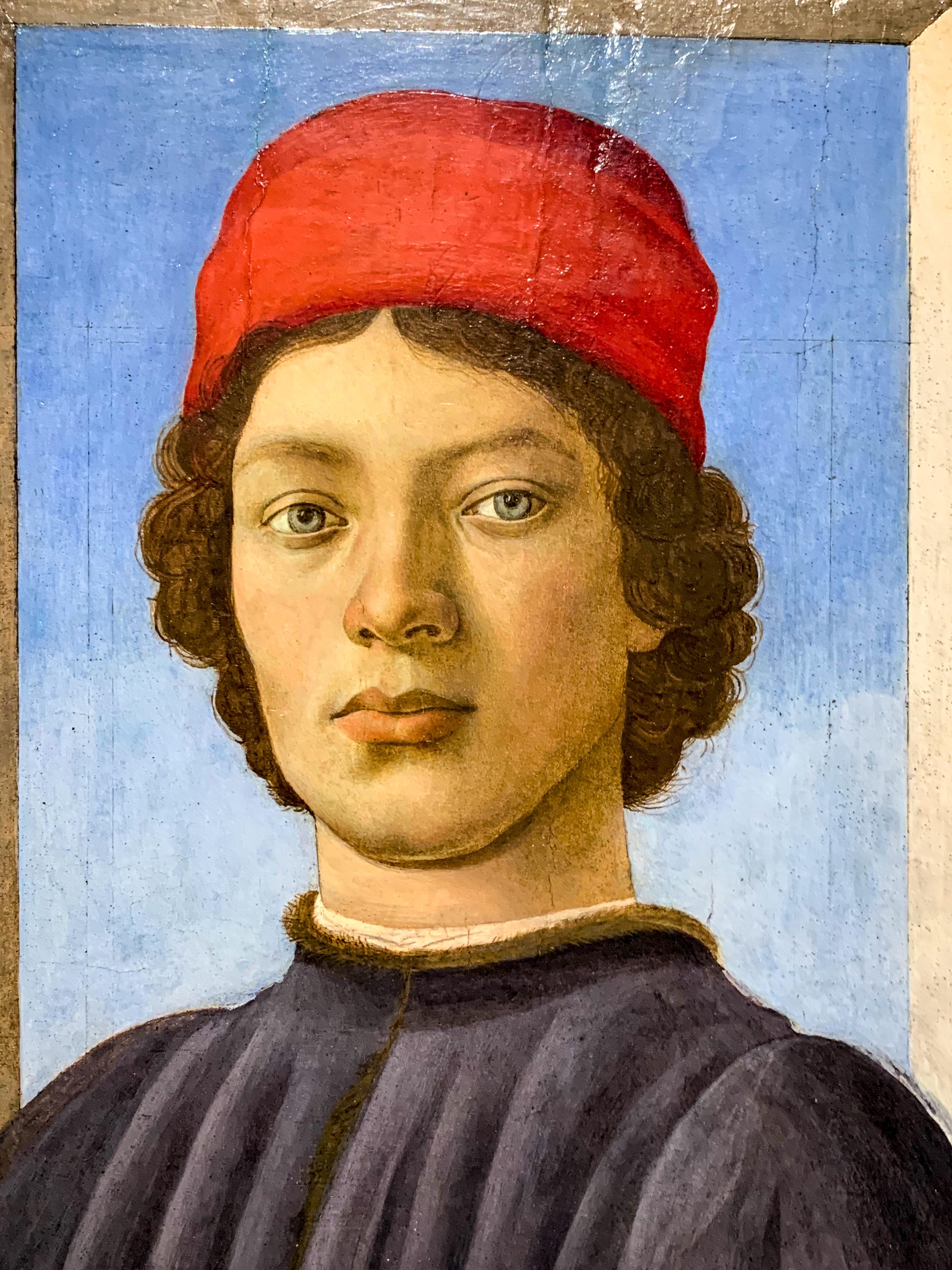 Botticelli, Ghirlandaio, Filippino Lippi Bildnis junger Mann Washington