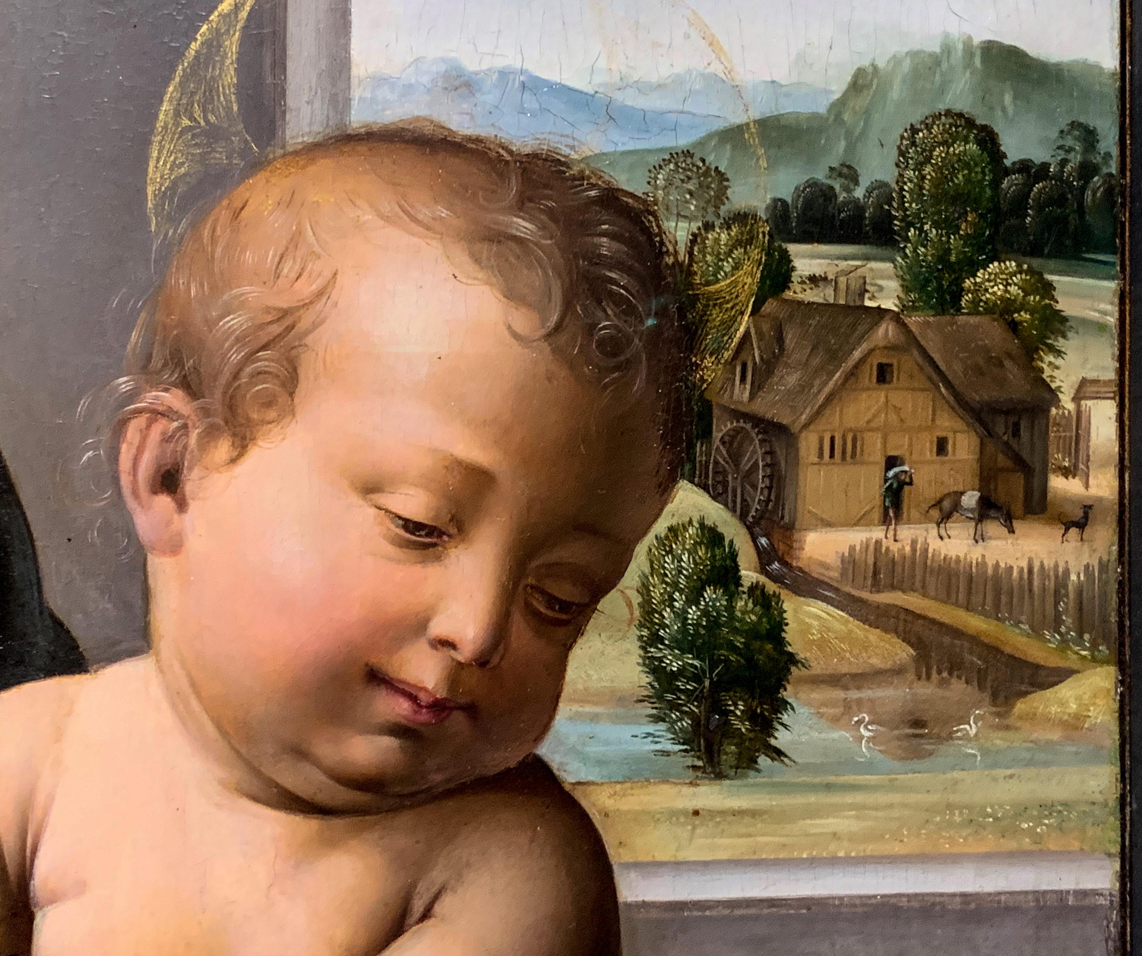 Fra Bartolommeo Madonna Metropolitan Museum