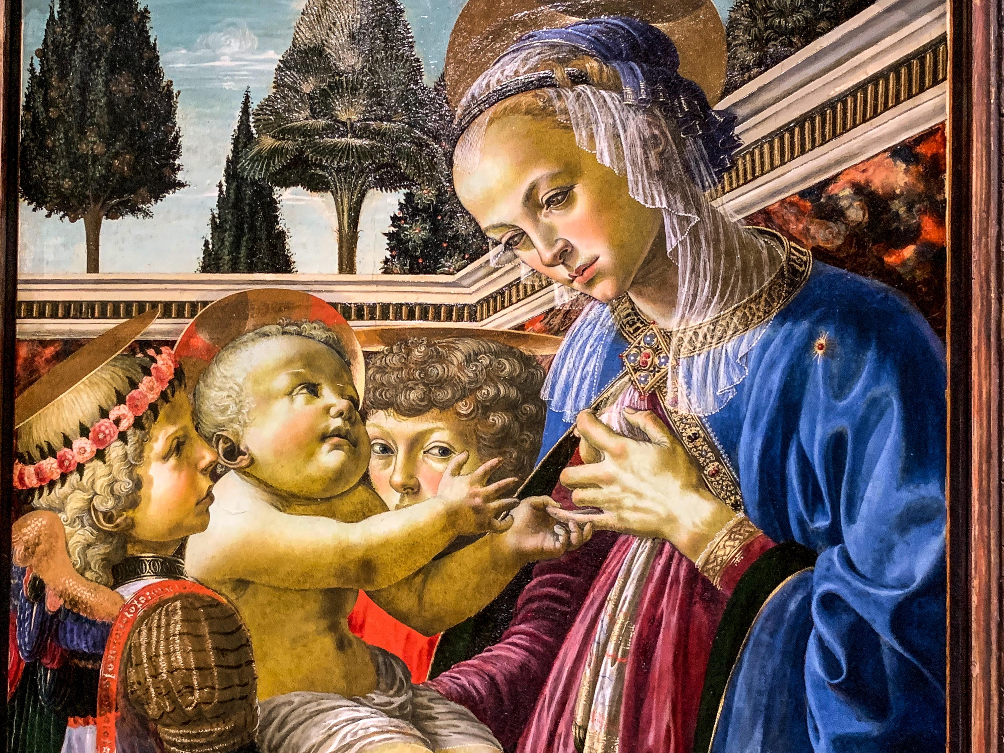 Verrocchio, Leonardo, Fra Bartolommeo Madonna London