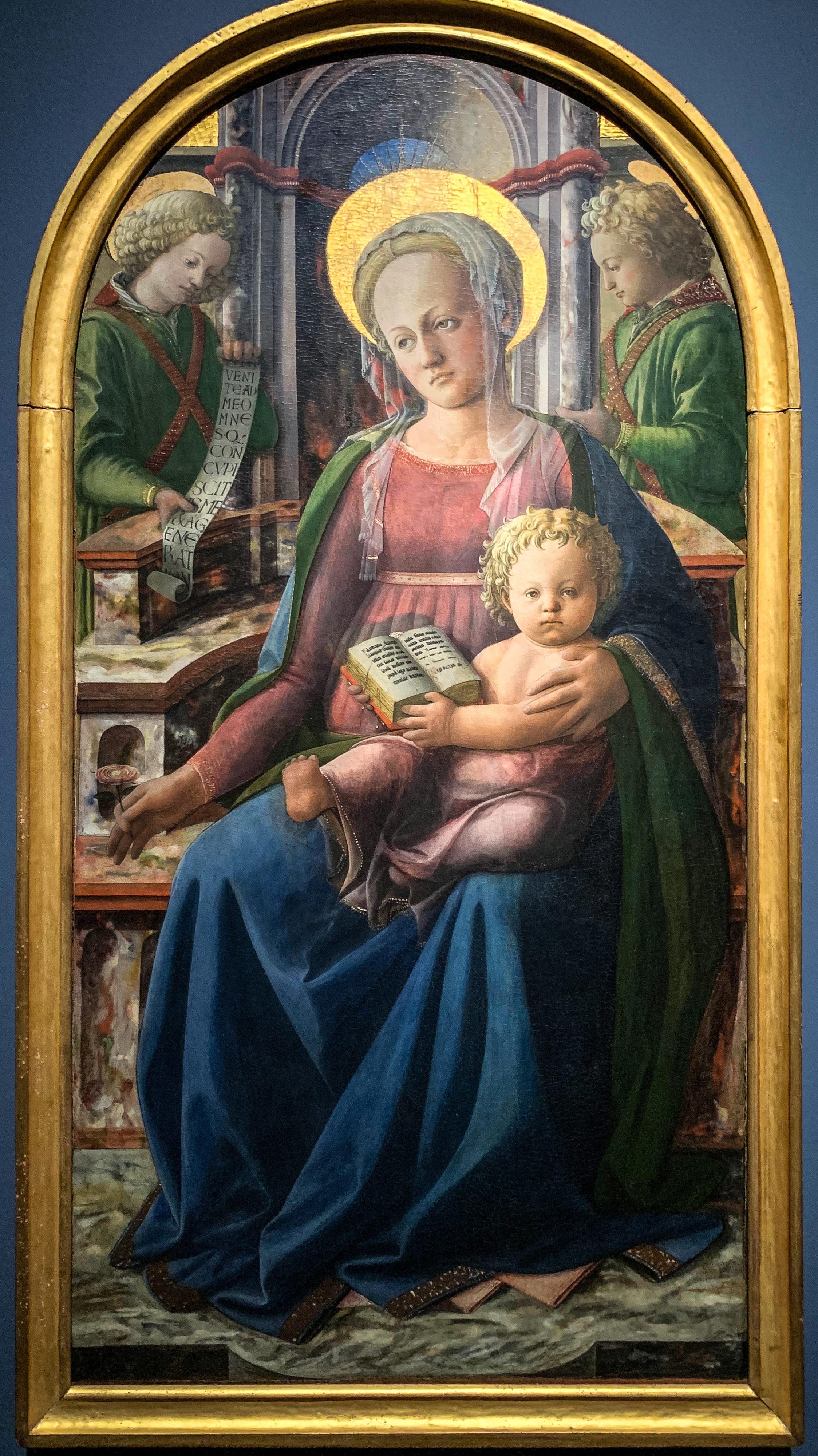 Fra Angelico und Filippo Lippi Metropolitan Museum