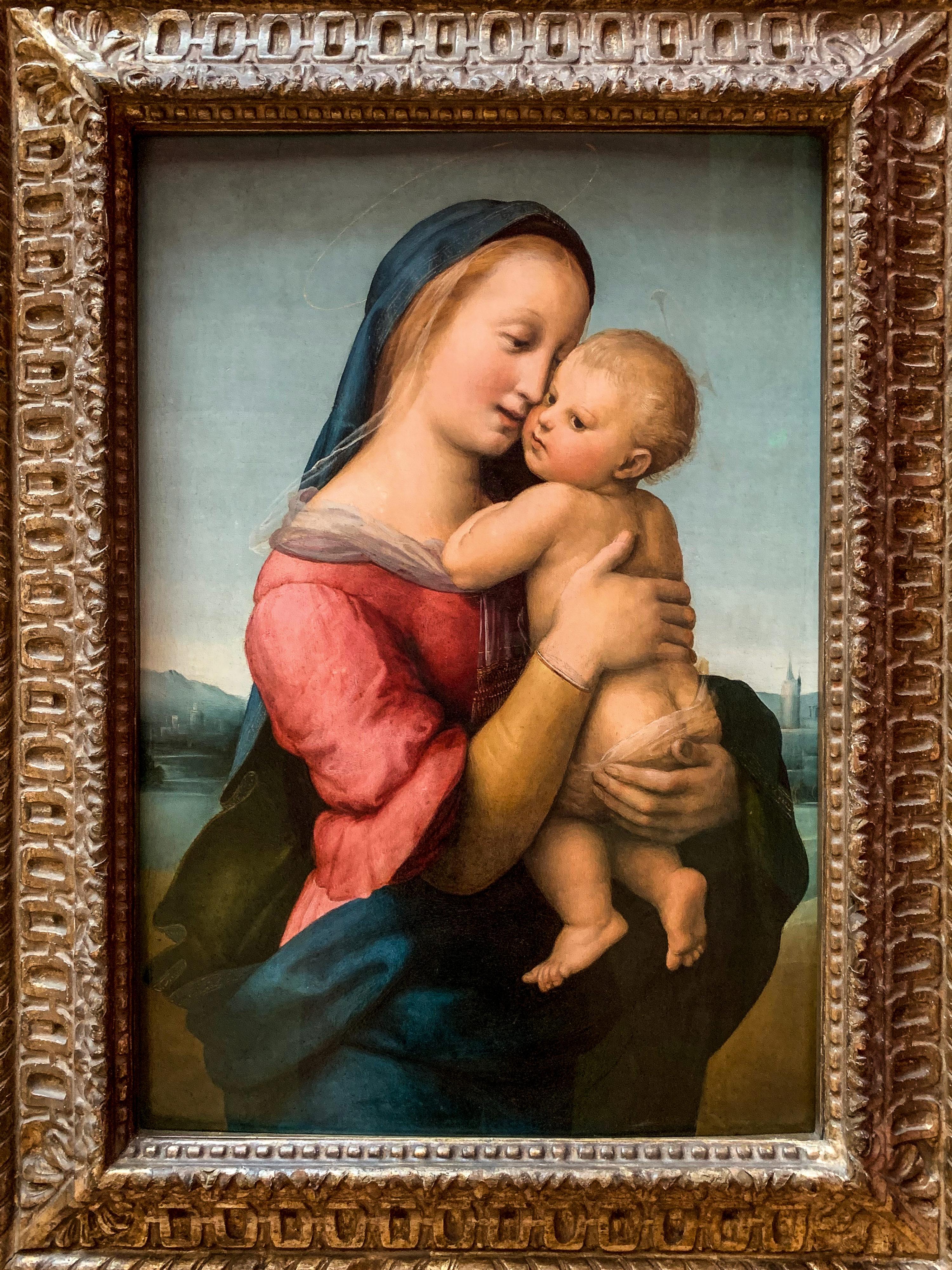 Raffael Madonna Tempi Alte Pinakothek