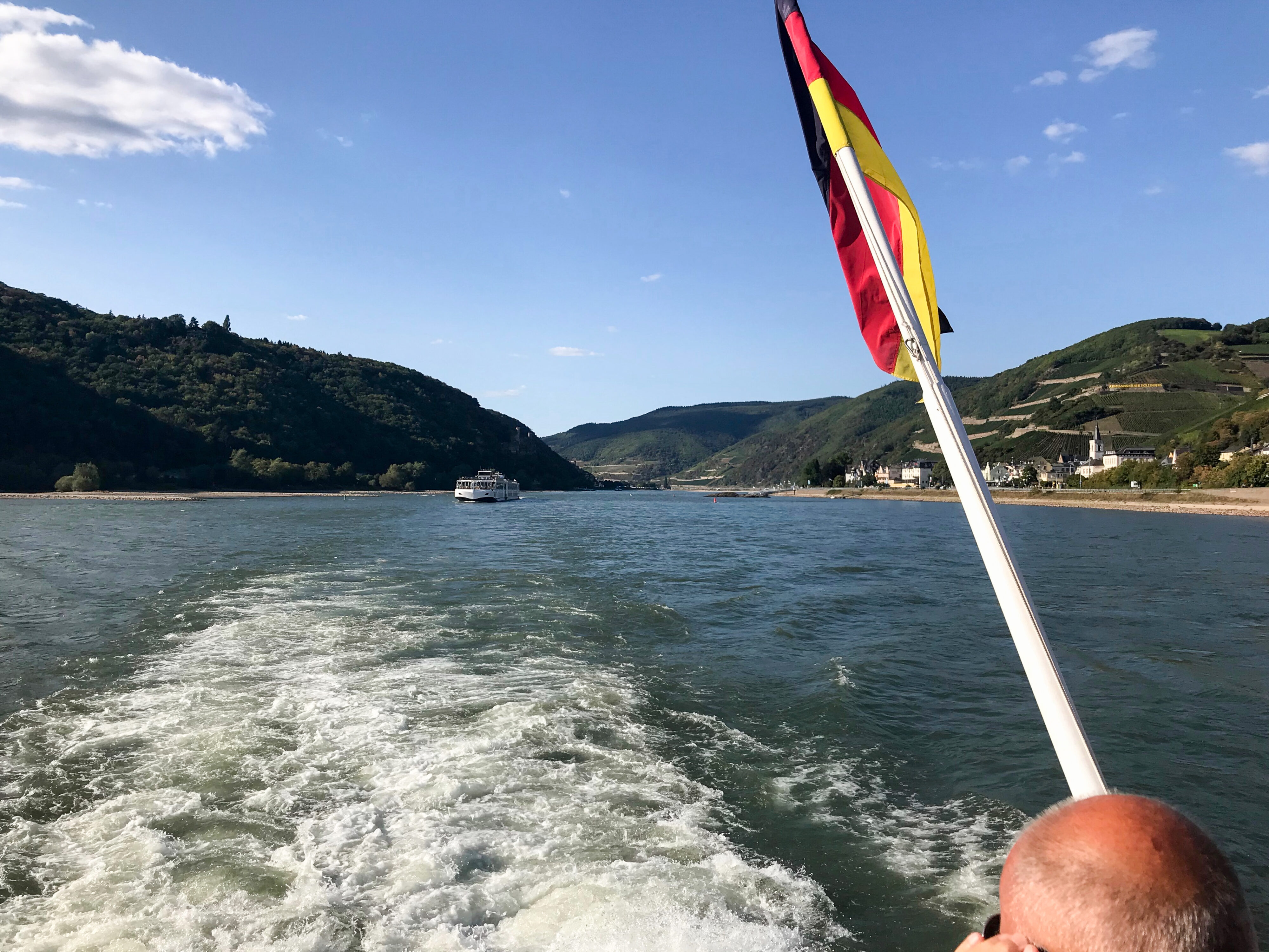 Schiffsfahrt nach Rüdesheim