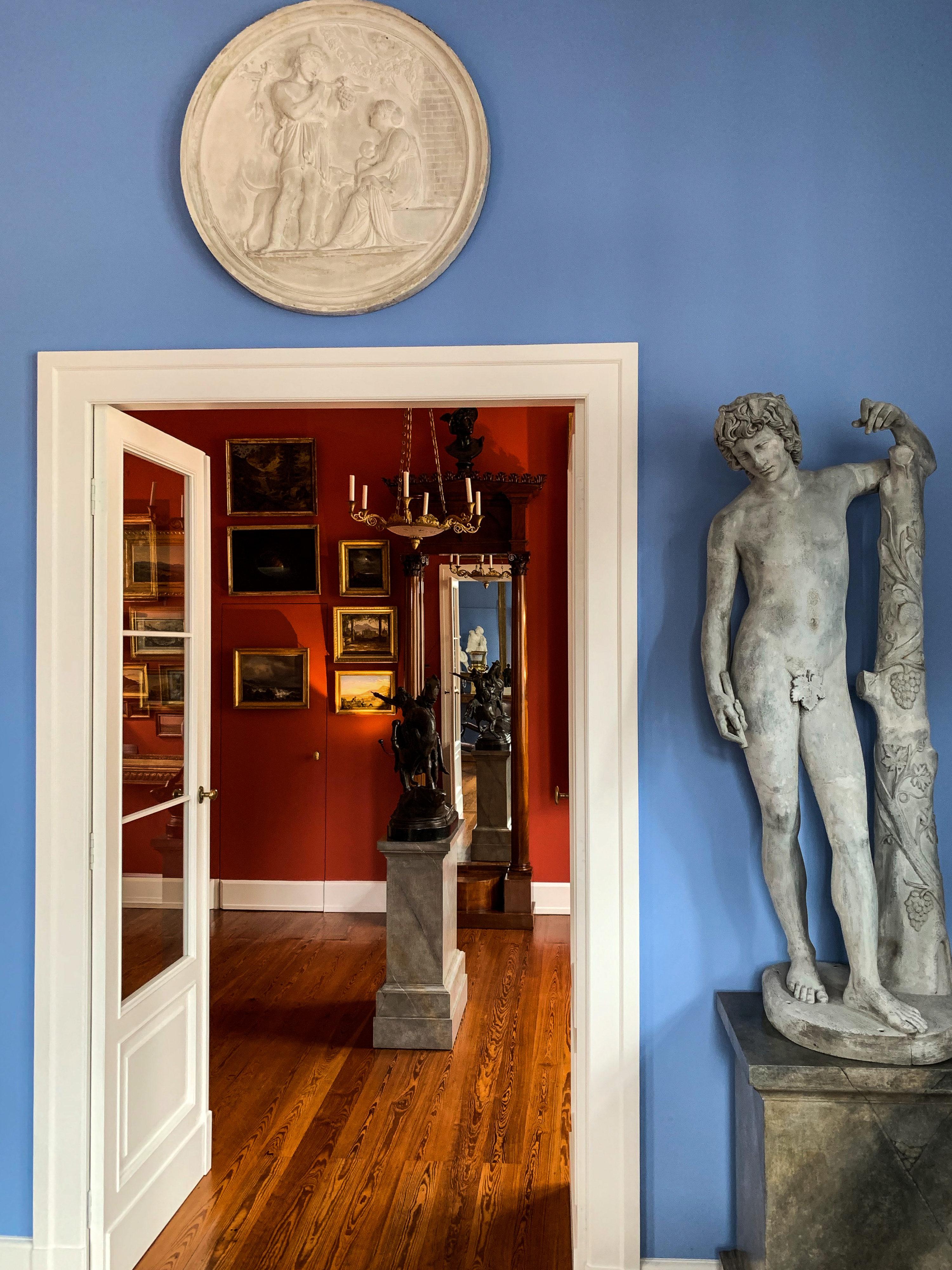 Blaues Zimmer Bacchant aus Schloss Tegel