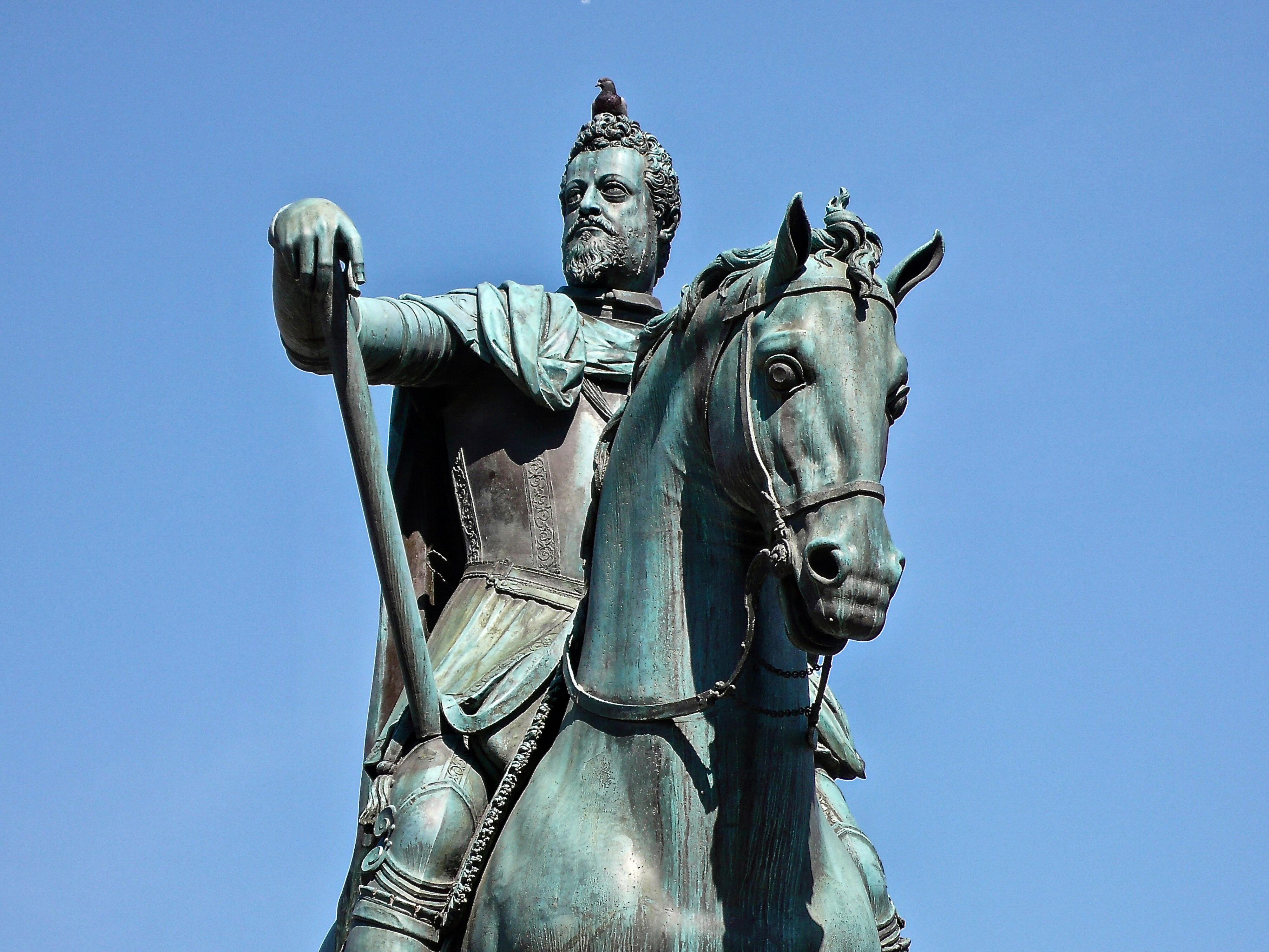 FerdinandI de# Medici mit Taube