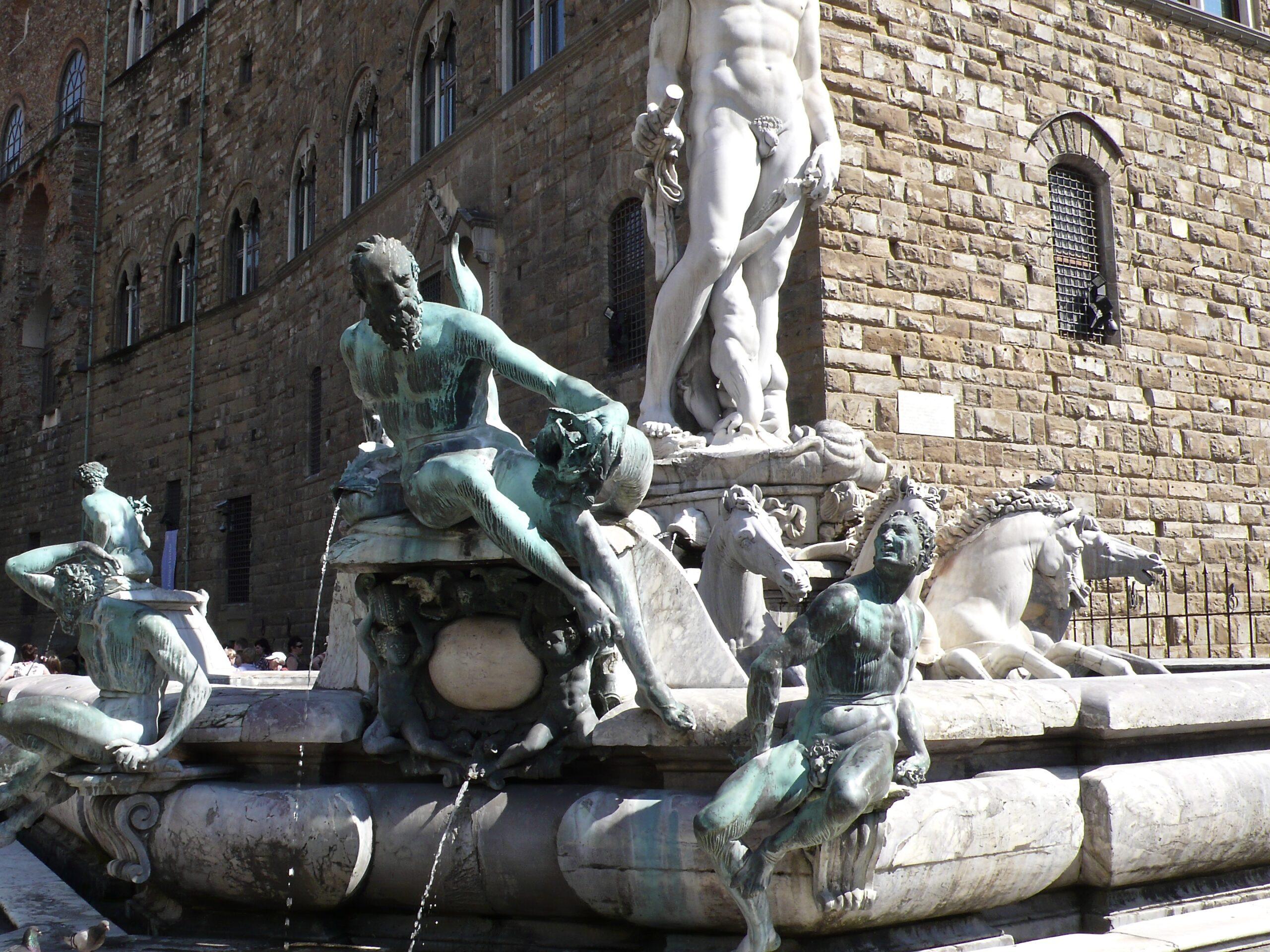 Ammanatis Seepferde in Florenz