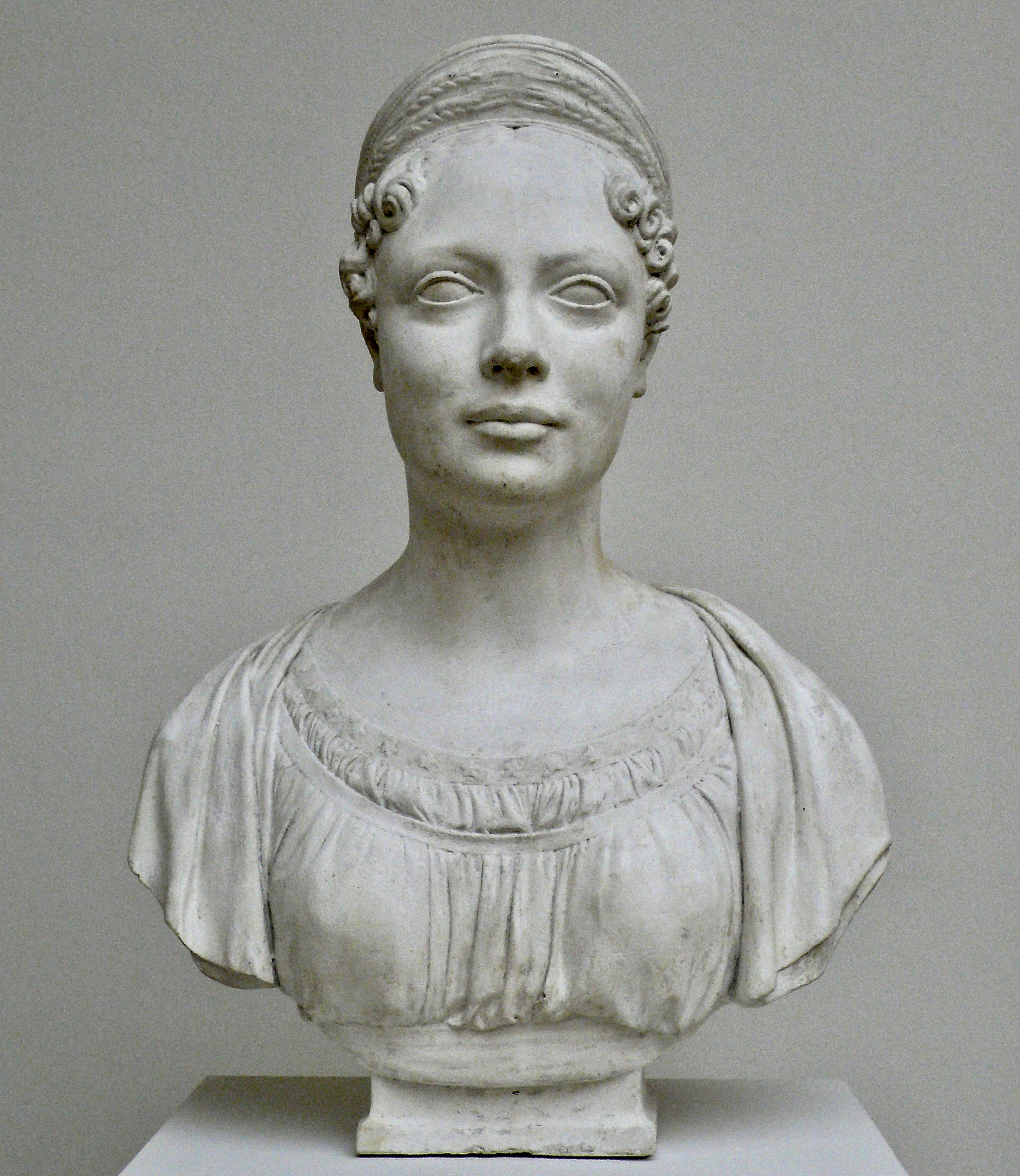 J. H. Dannecker Königin Katharina 1818 Staatsgalerie Stuttgart