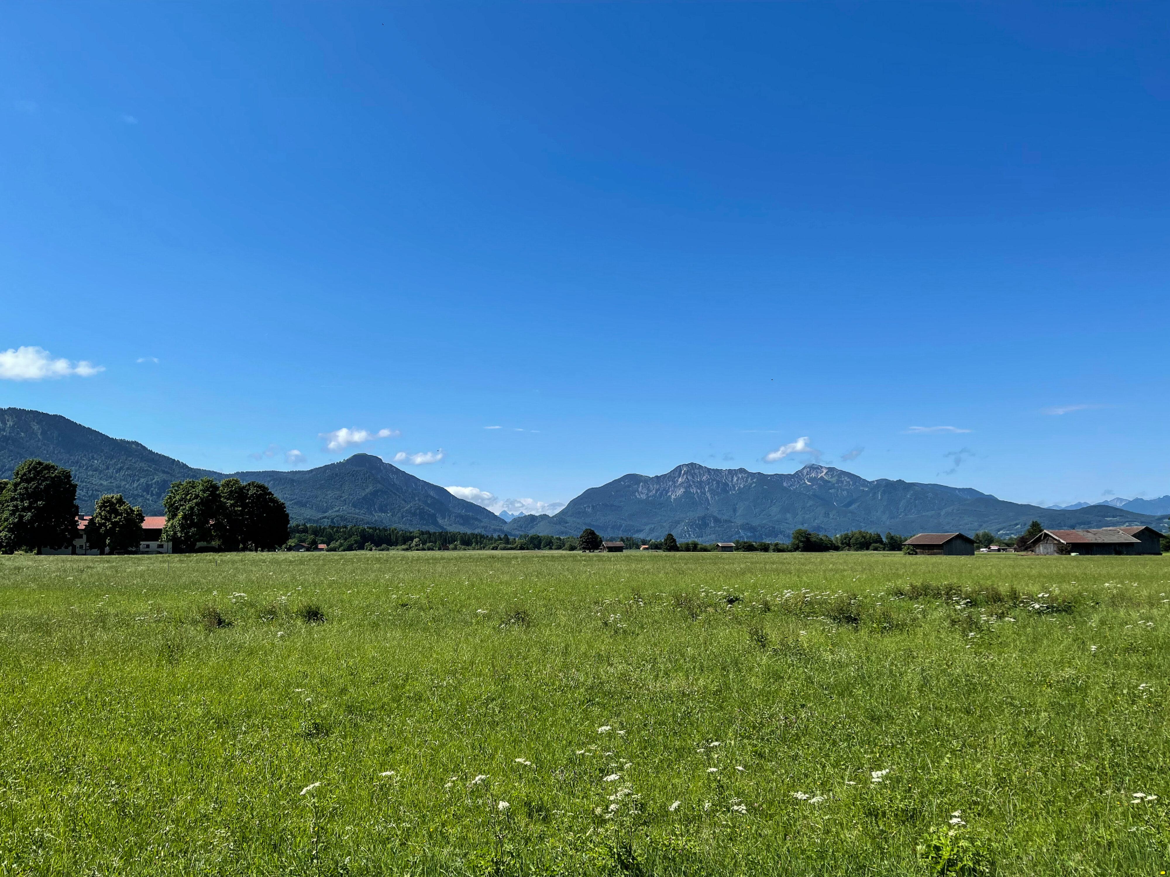 Ferien auf dem Bauernhof bei Kochel am See, hier bei Benediktbeuren