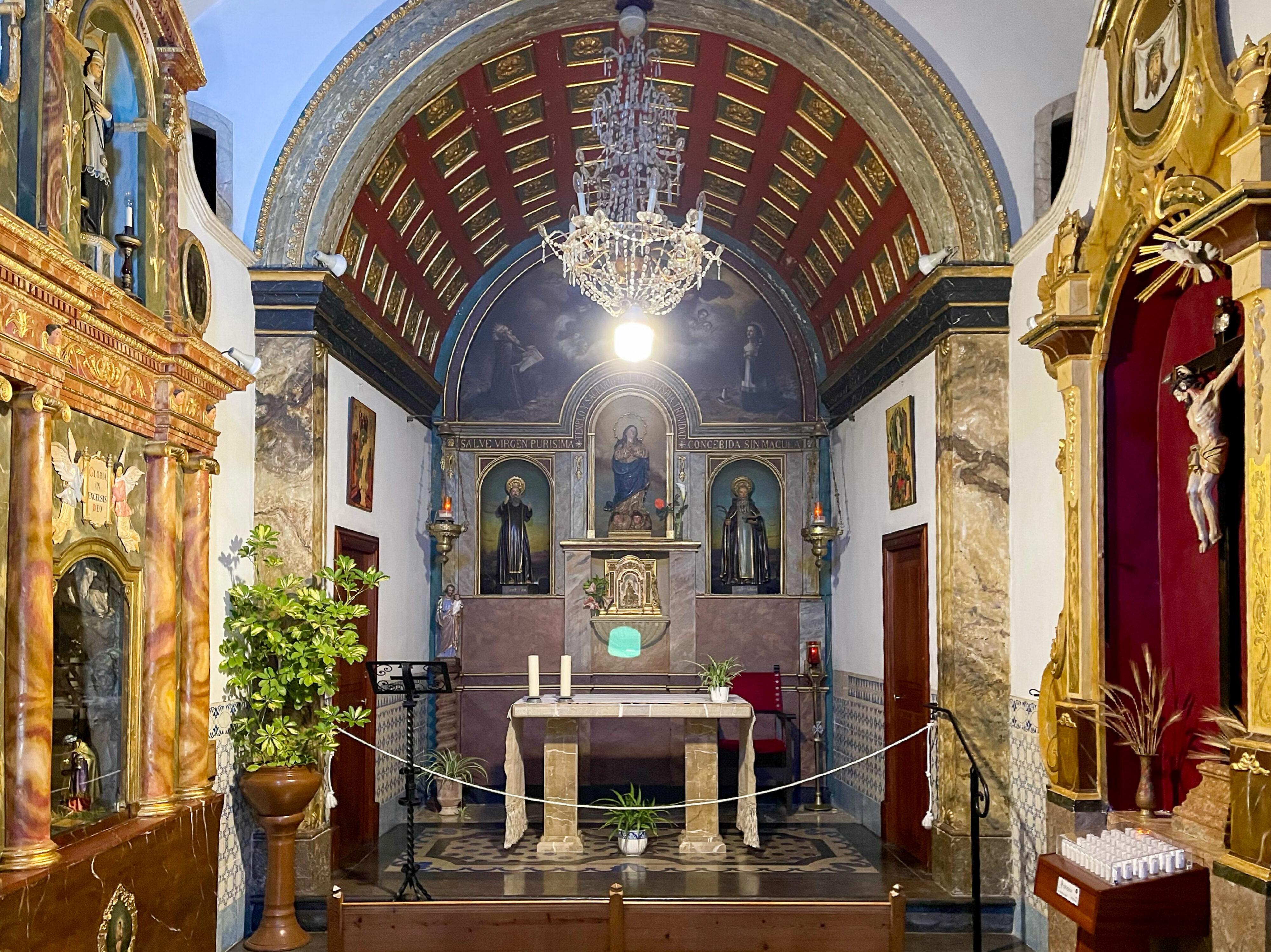 Kapelle als Mittelpunkt der Ermita