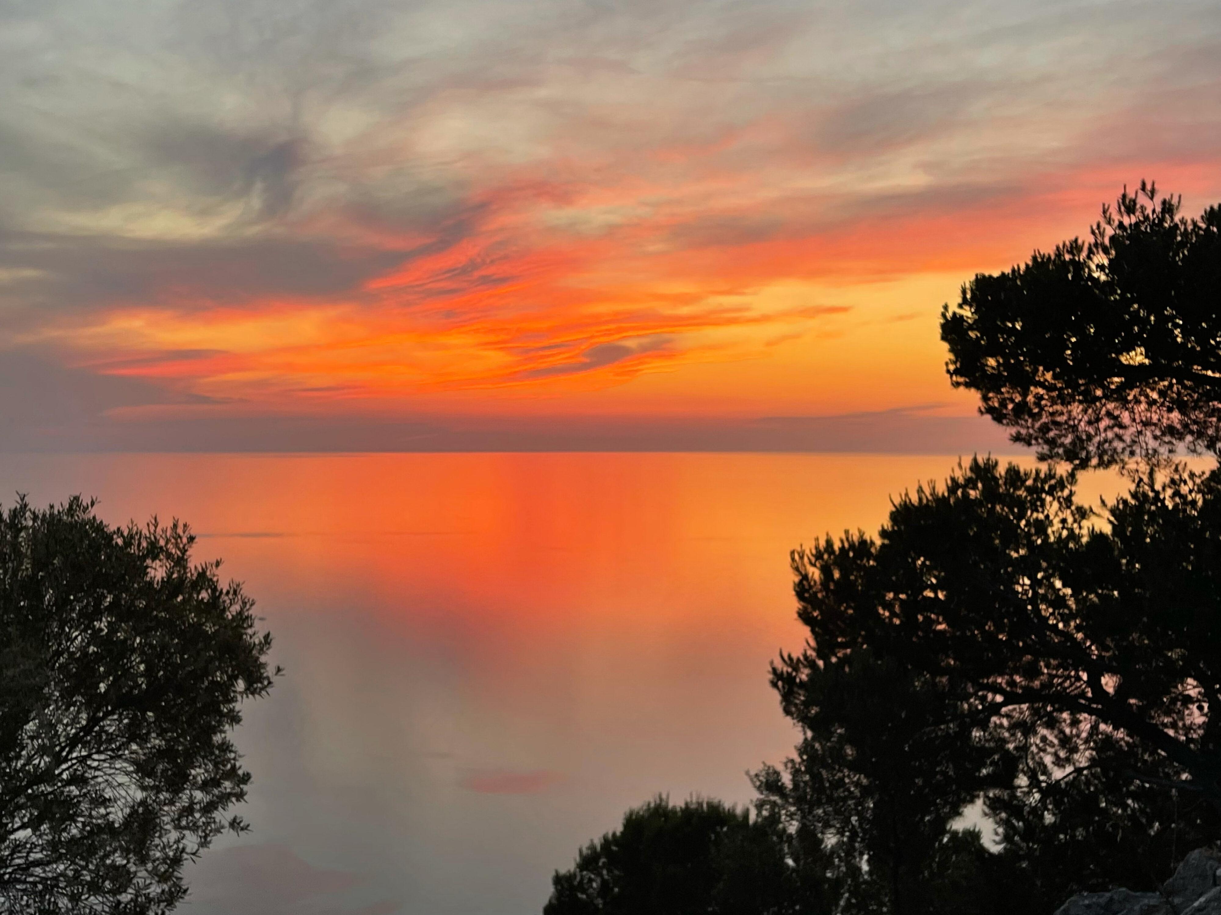 Einzigartiger Sonnenuntergang bei Valldemossa – einverstanden ?