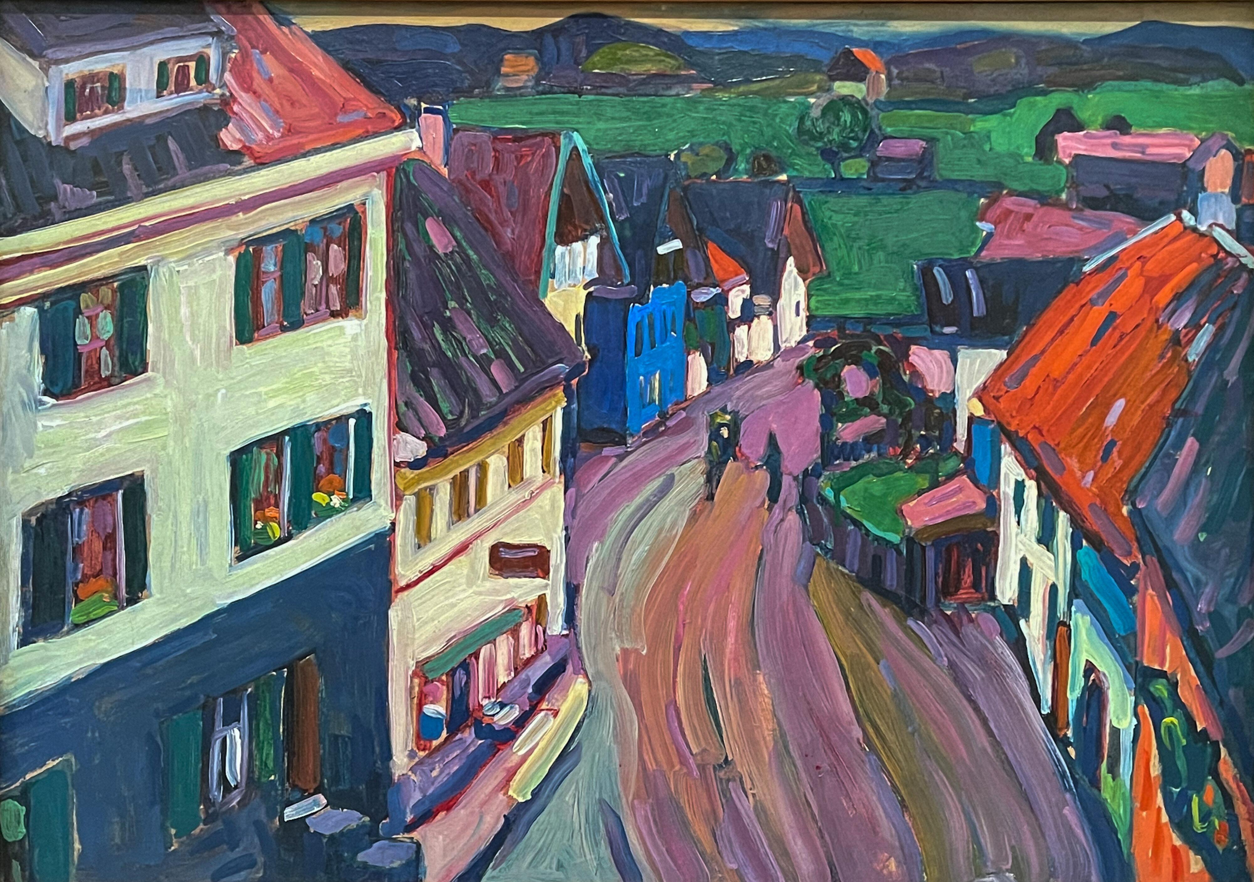 Blaues Land und Blauer Reiter: Murnau von Kandinsky 1908 im Lenbachhaus, München